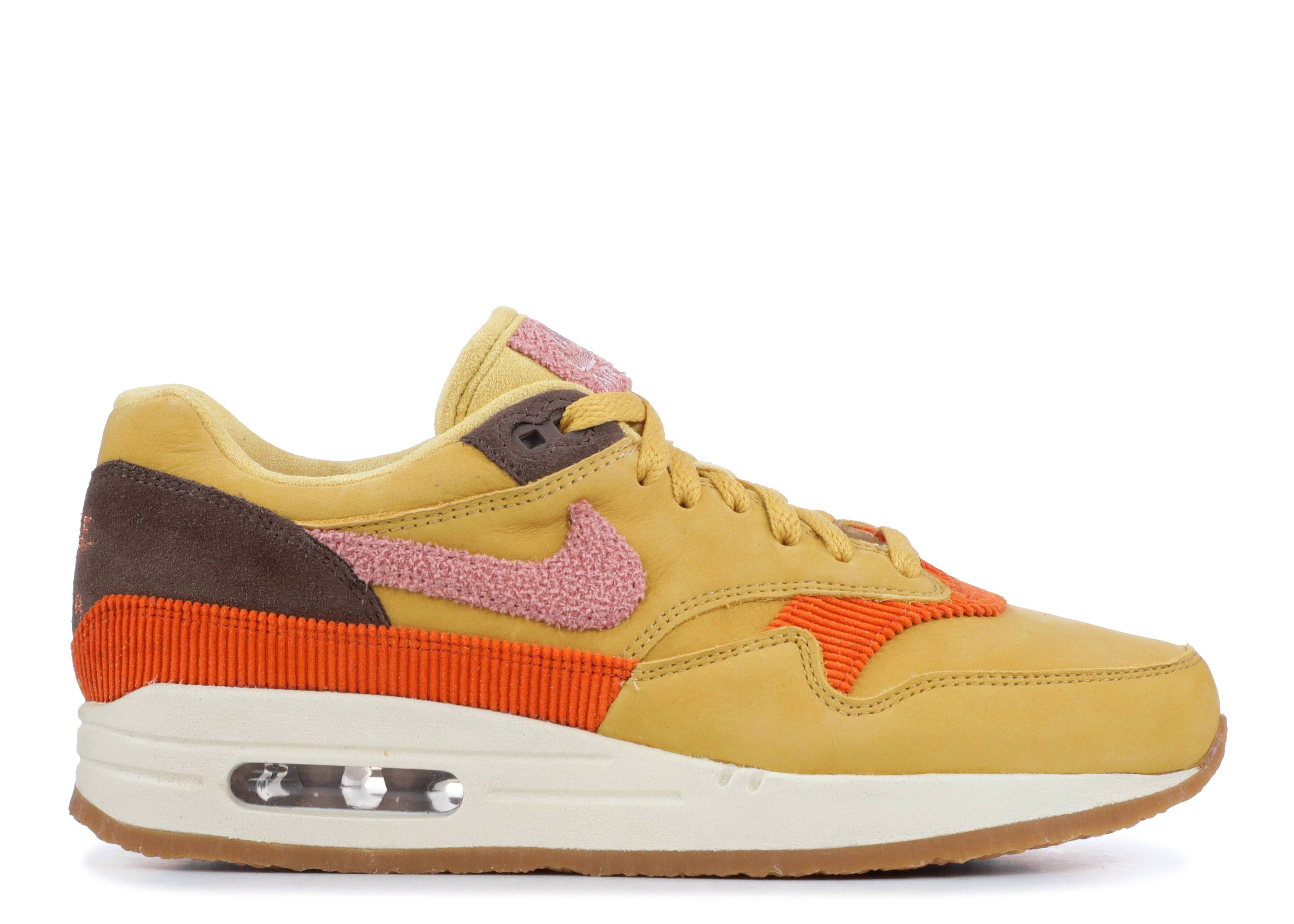 "Nike Air Max 1 Premium ""Wheat Gold"""