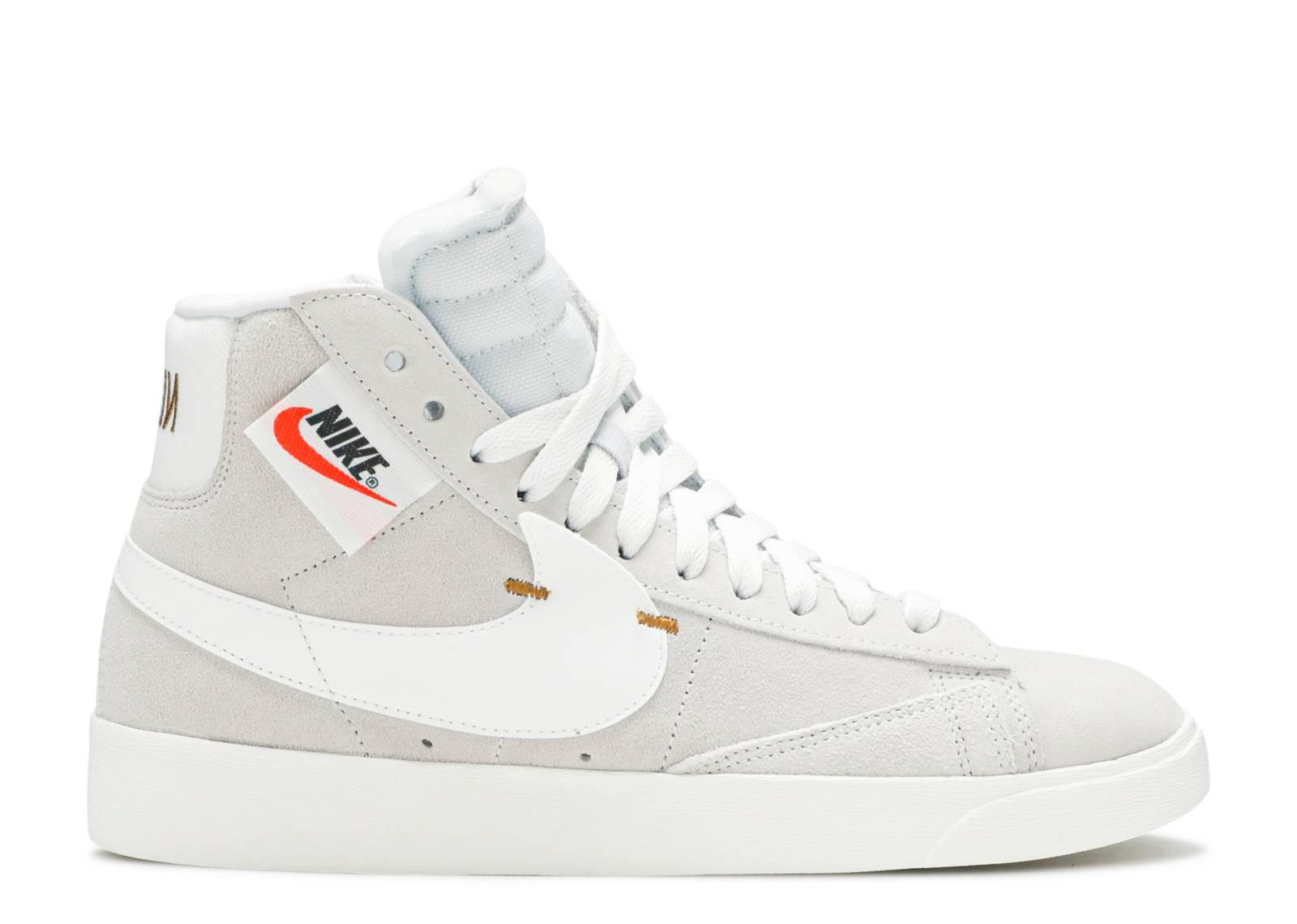 W Blazer Mid Rebel - Nike - bq4022 101 - off white/summit white ...