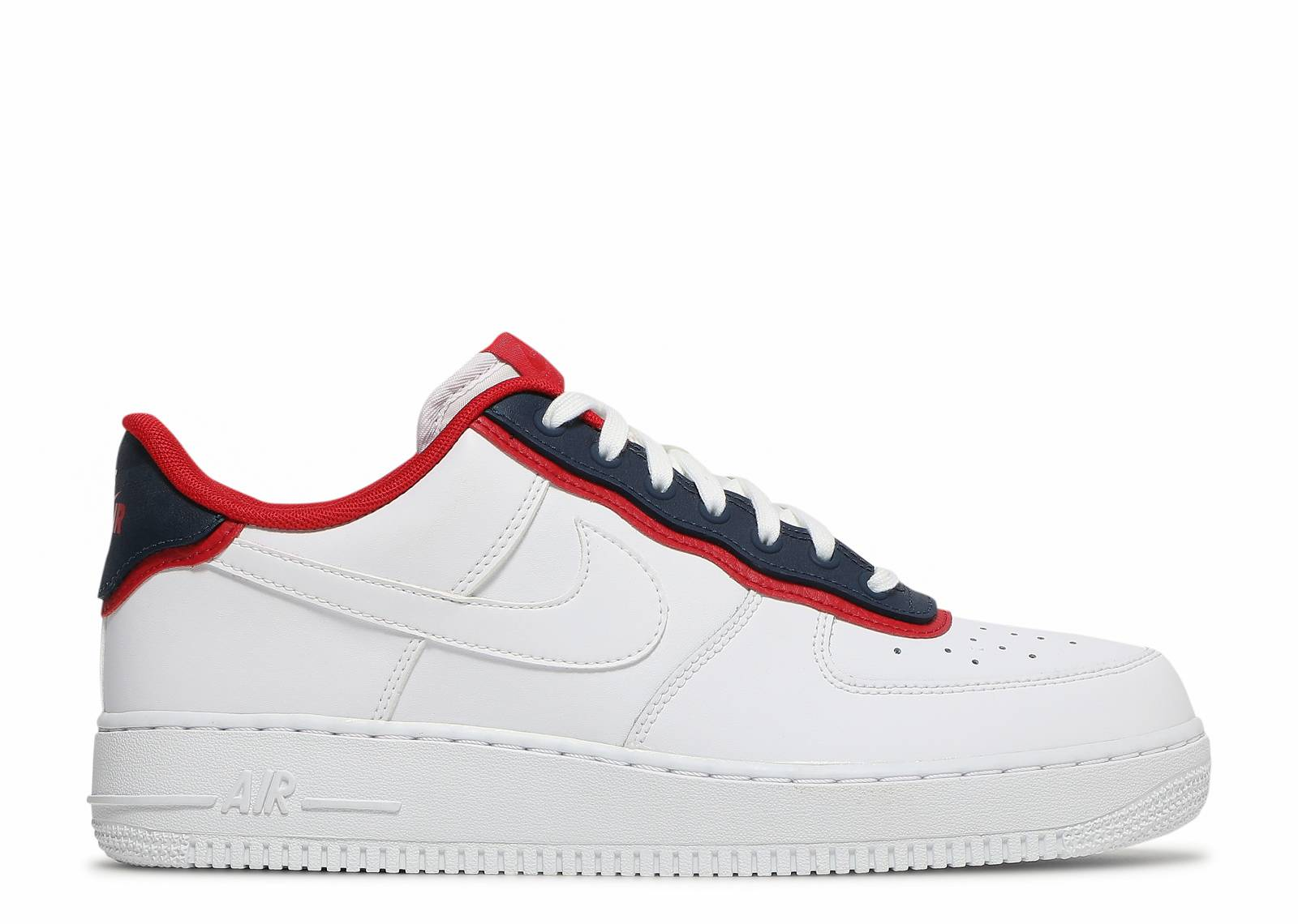 Air Force 1 '07 LV8 'Double Layer - Obsidian Red'