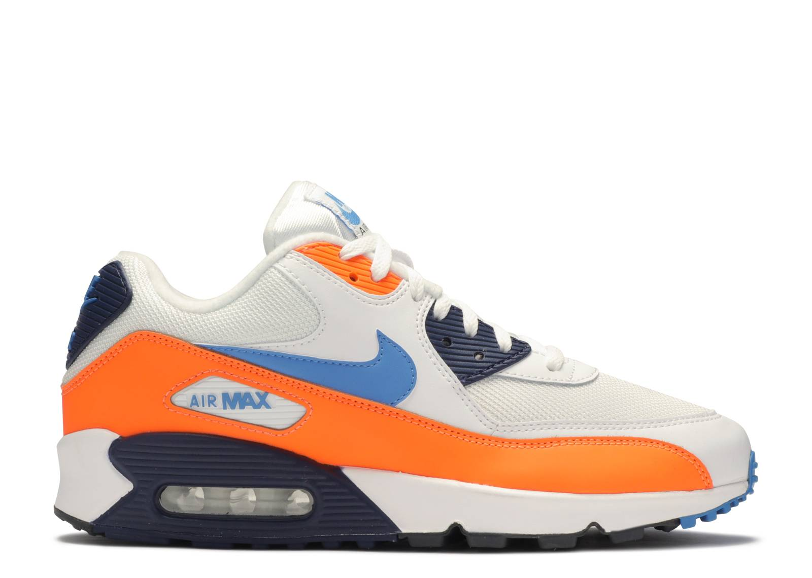 air max orange et noir