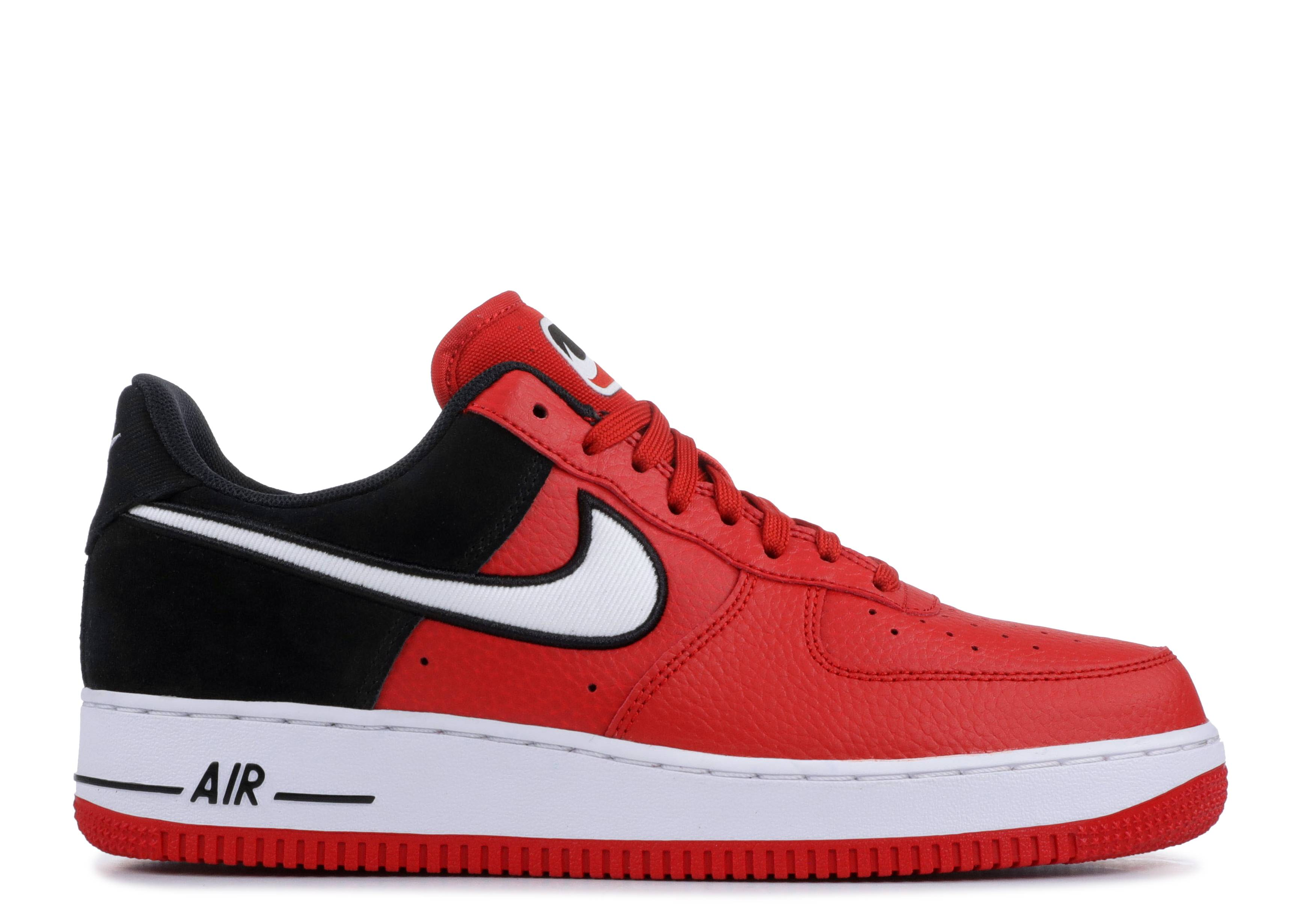 best service 7ed06 c1b4f Air Force 1 Low  Red Black