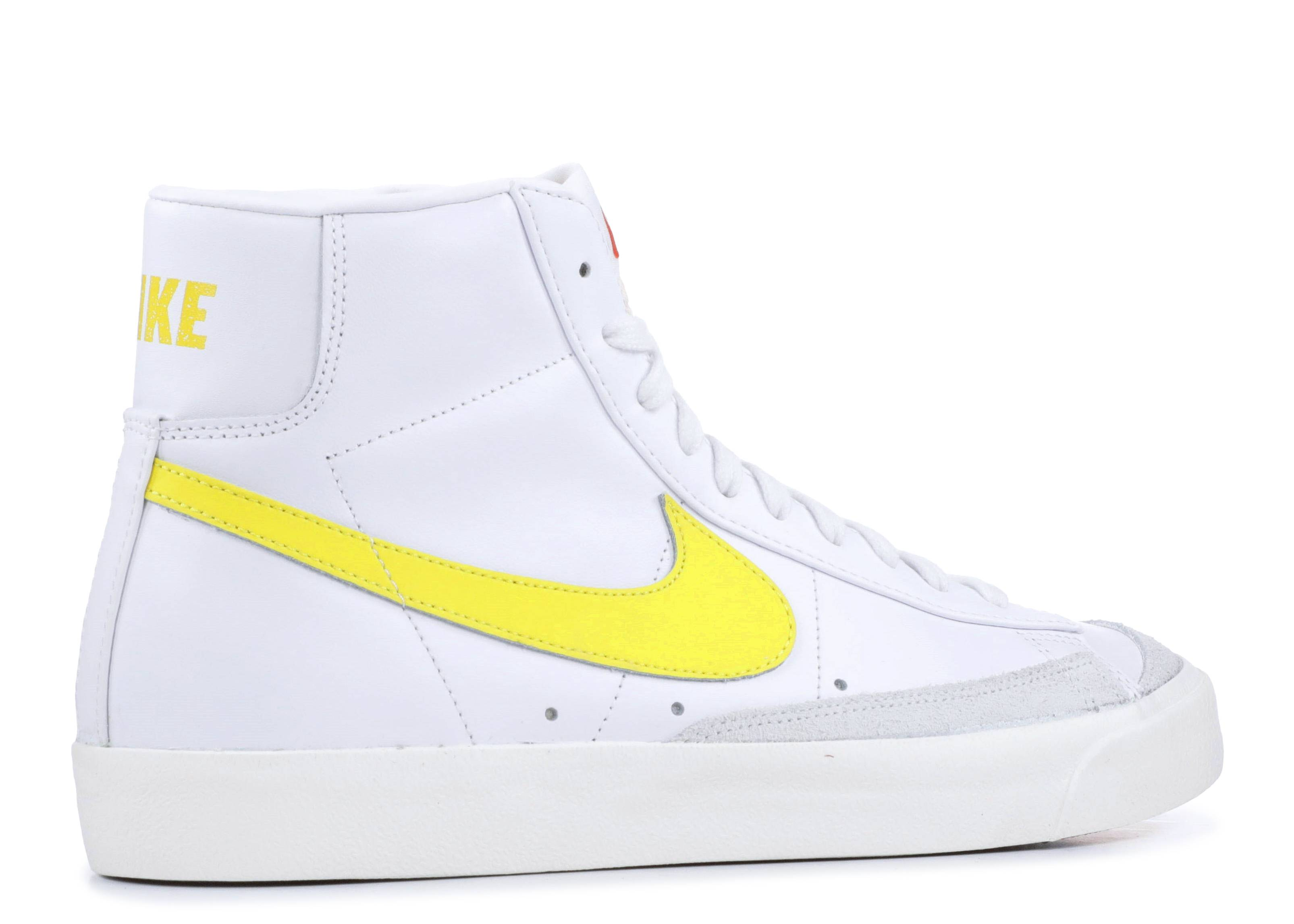 entrar voltereta Debería  Blazer Mid '77 Vintage 'Opti Yellow' - Nike - BQ6806 101 - white/opti yellow  | Flight Club