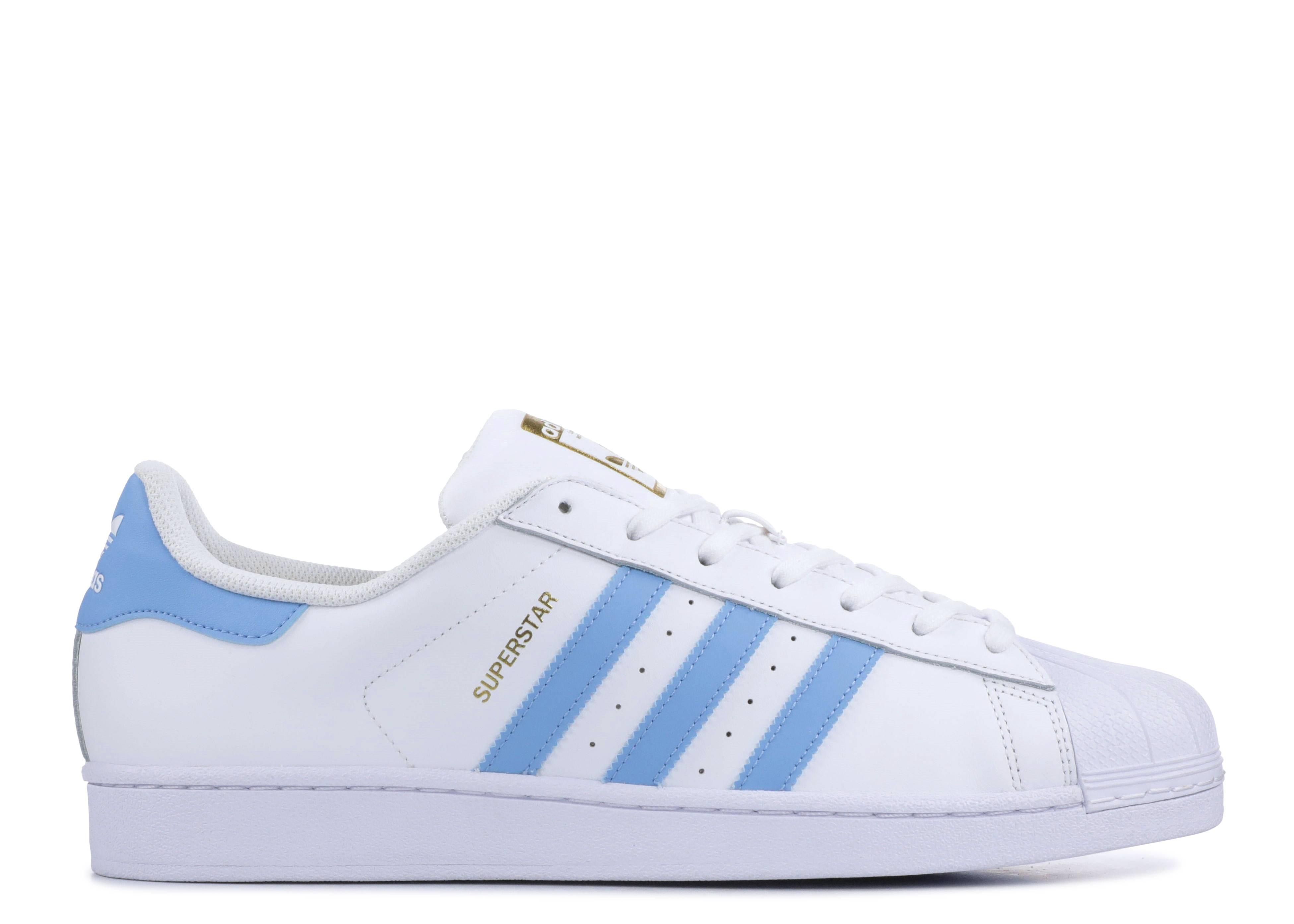 Adidas Originals Superstar Foundation White//Blue BY3716 Mens Causal Shoes