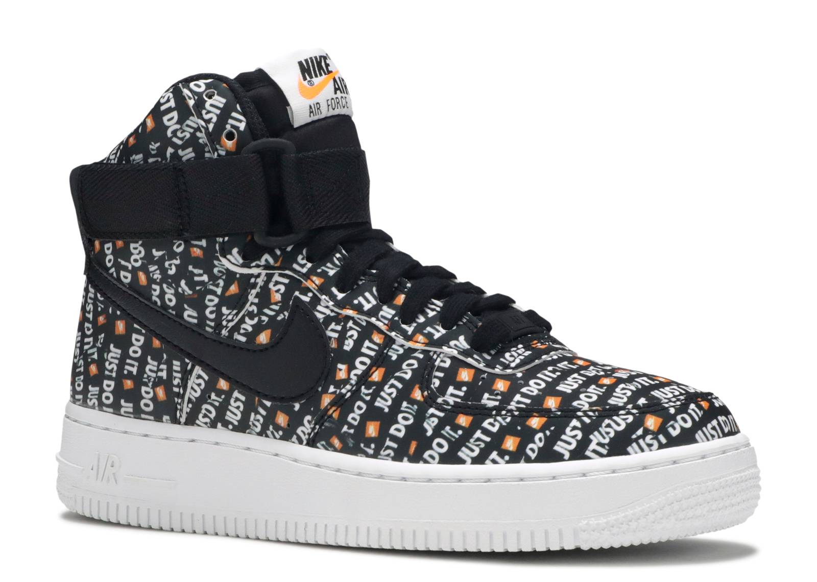 Details about Nike Air Force 1 High LX AO5138 001 JDI 'Just Do it' BlackWhite Womens Size 5.5