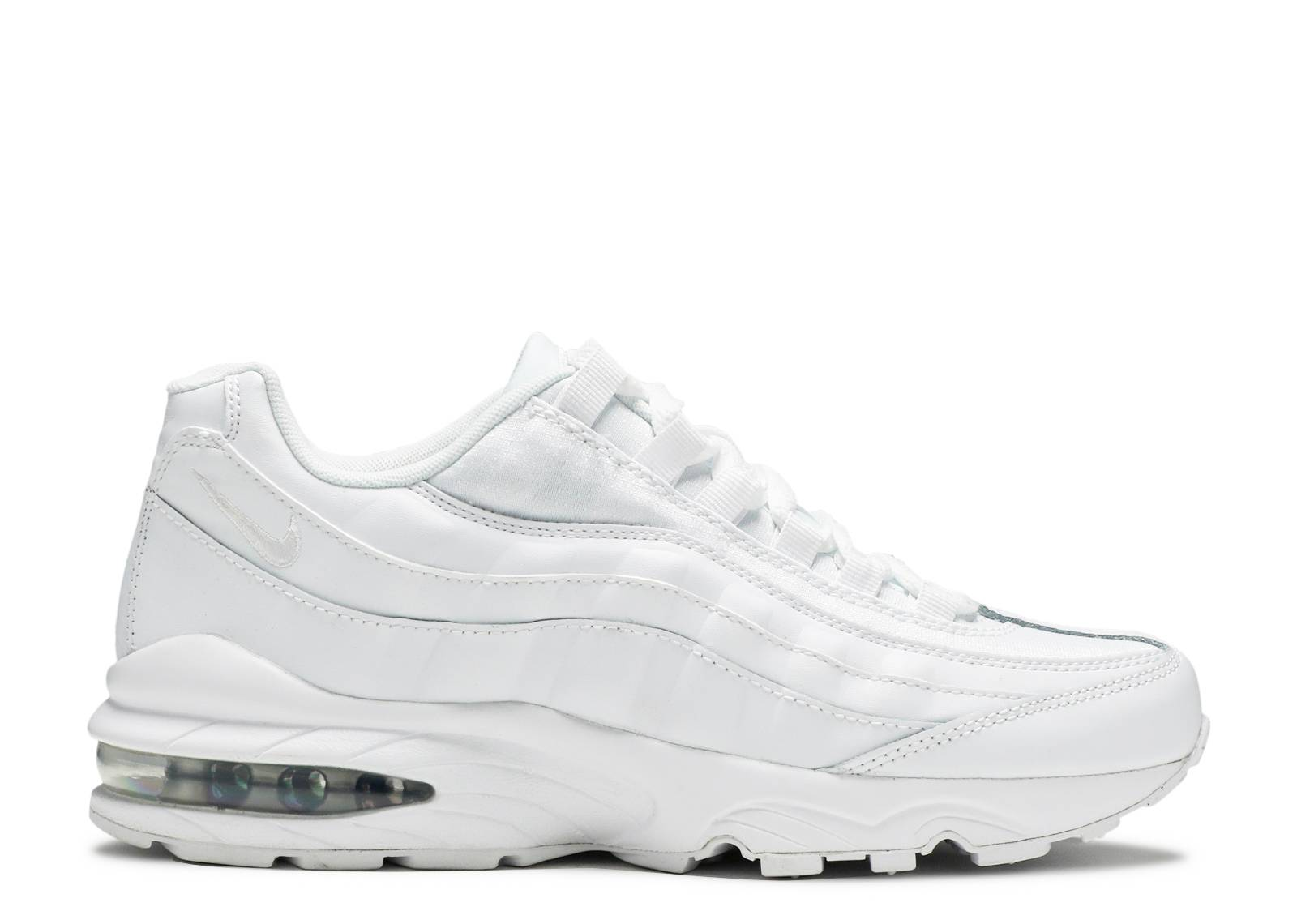 Air Max 95 GS 'White Metallic Silver'