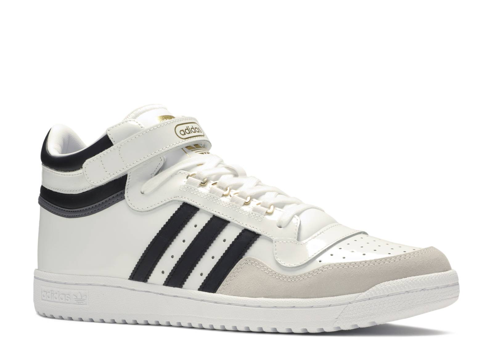 Concord 2 Mid 'White Patent' Adidas BB8778 footwear