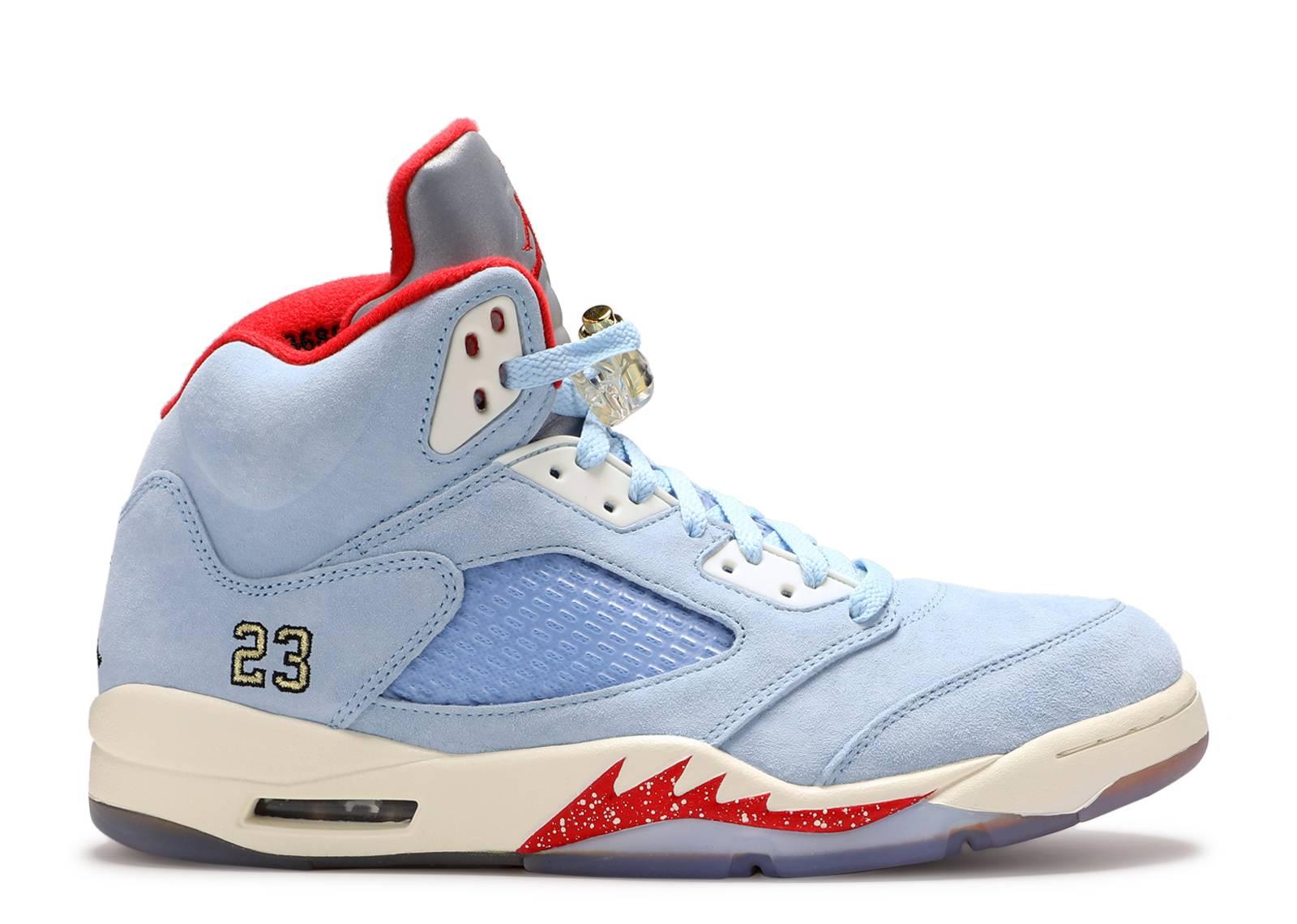 0c918b0e32e Trophy Room X Air Jordan 5 Retro 'Ice Blue'
