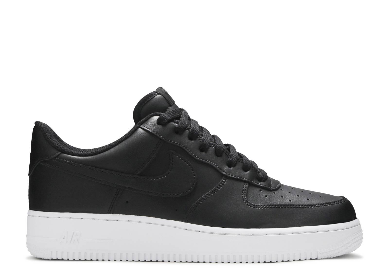 Nike Air Force 1 '07 Black Black White AA4083 015 | Bruut