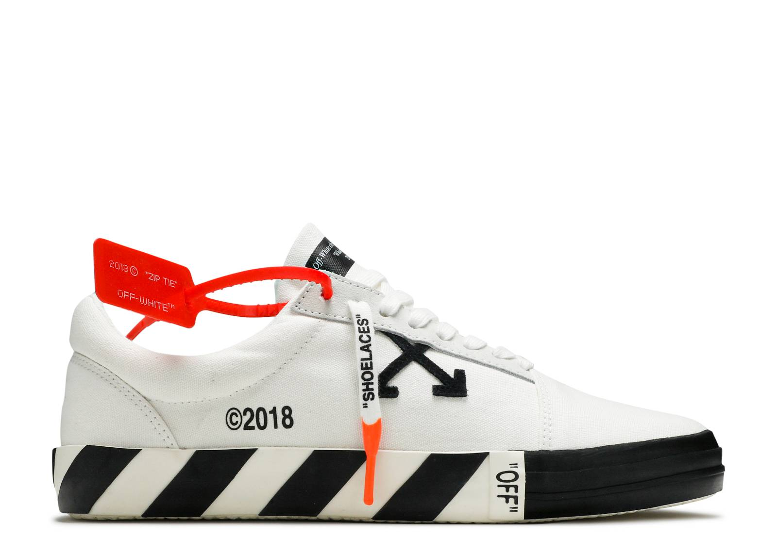 "OFF-WHITE Wmns Vulc Low Top 'White' ""white"""