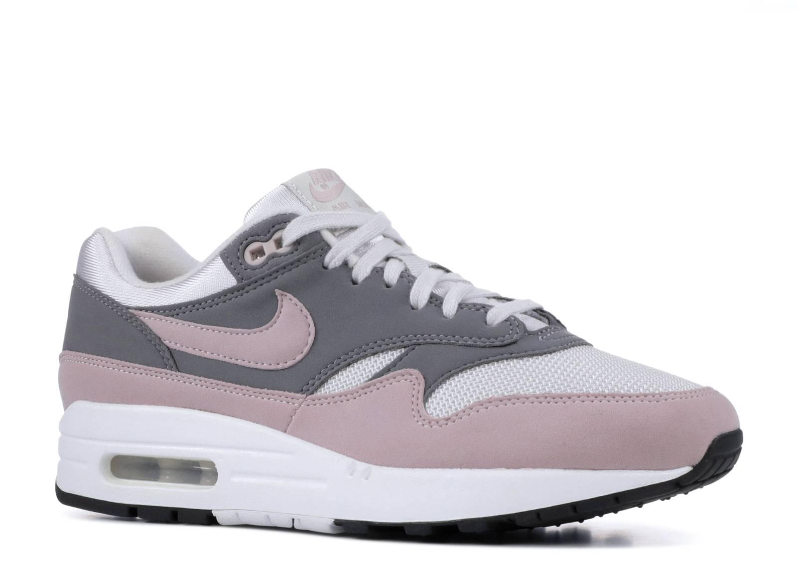 Womens Nike Air Max 1 Vast Grey particle Rose 319986 032