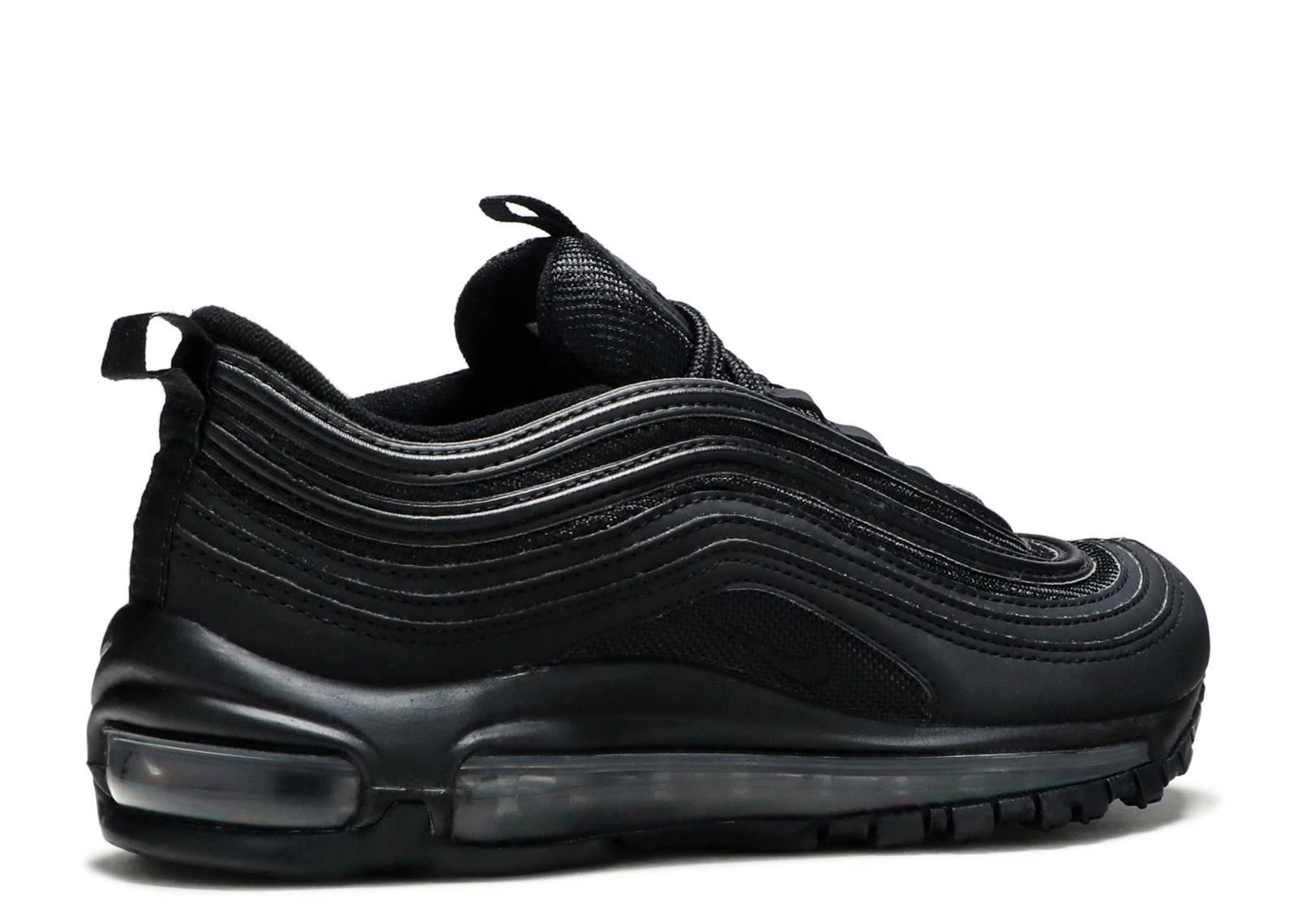 Air Max 97 OG BG 'Triple Black' - Nike - AV4149 001 - black/black ...