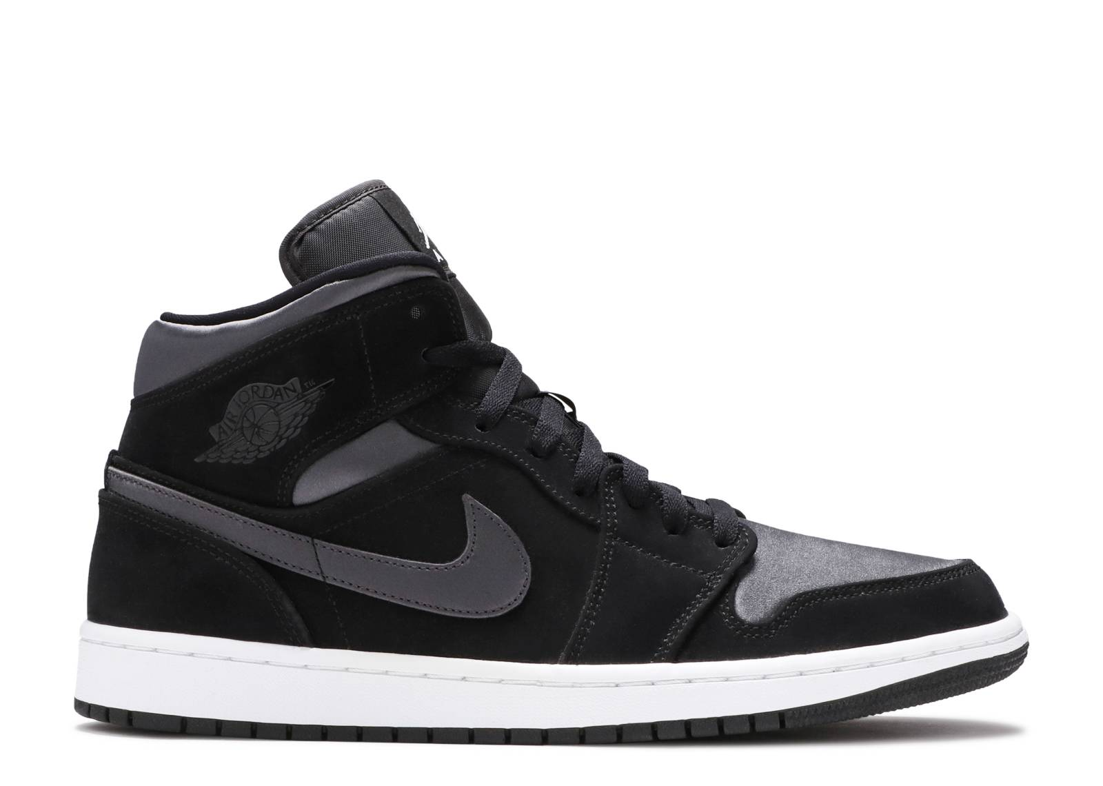 Assumere A rischio Non complicato  Air Jordan 1 Mid SE Nylon 'Black Grey' - Air Jordan - 852542 012 - black/ grey | Flight Club