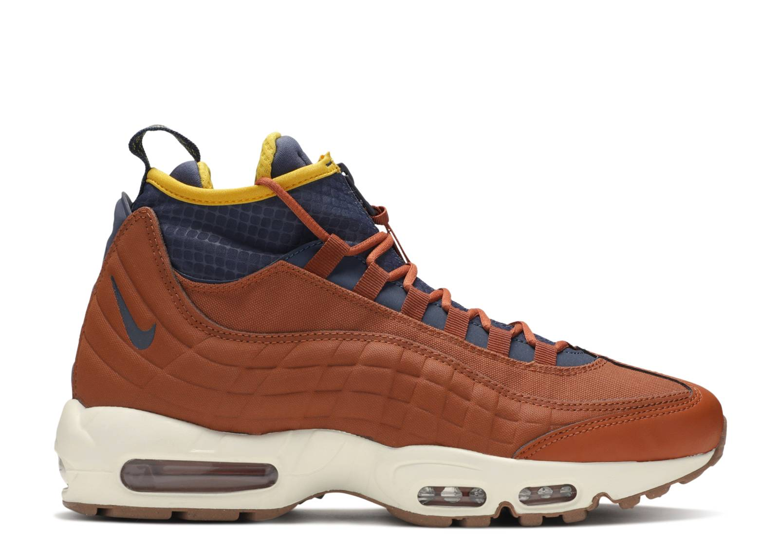 brand new 62ff1 10a34 Air Max 95 Sneakerboot 'Dark Russet'
