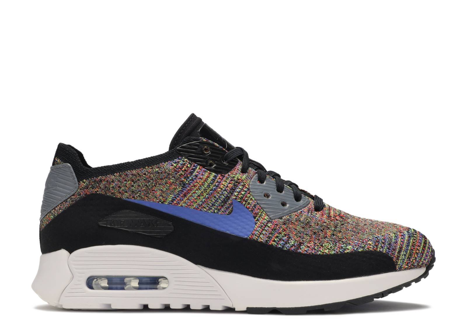 Nike Air Max Flyknit Multi Color Medium Blue |