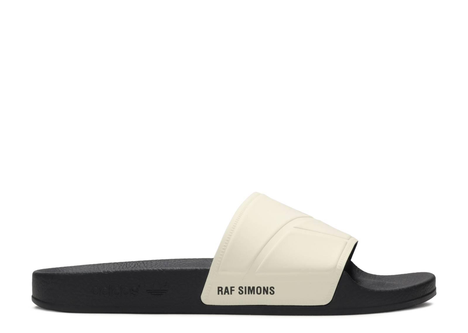 raf simons x adilette slides