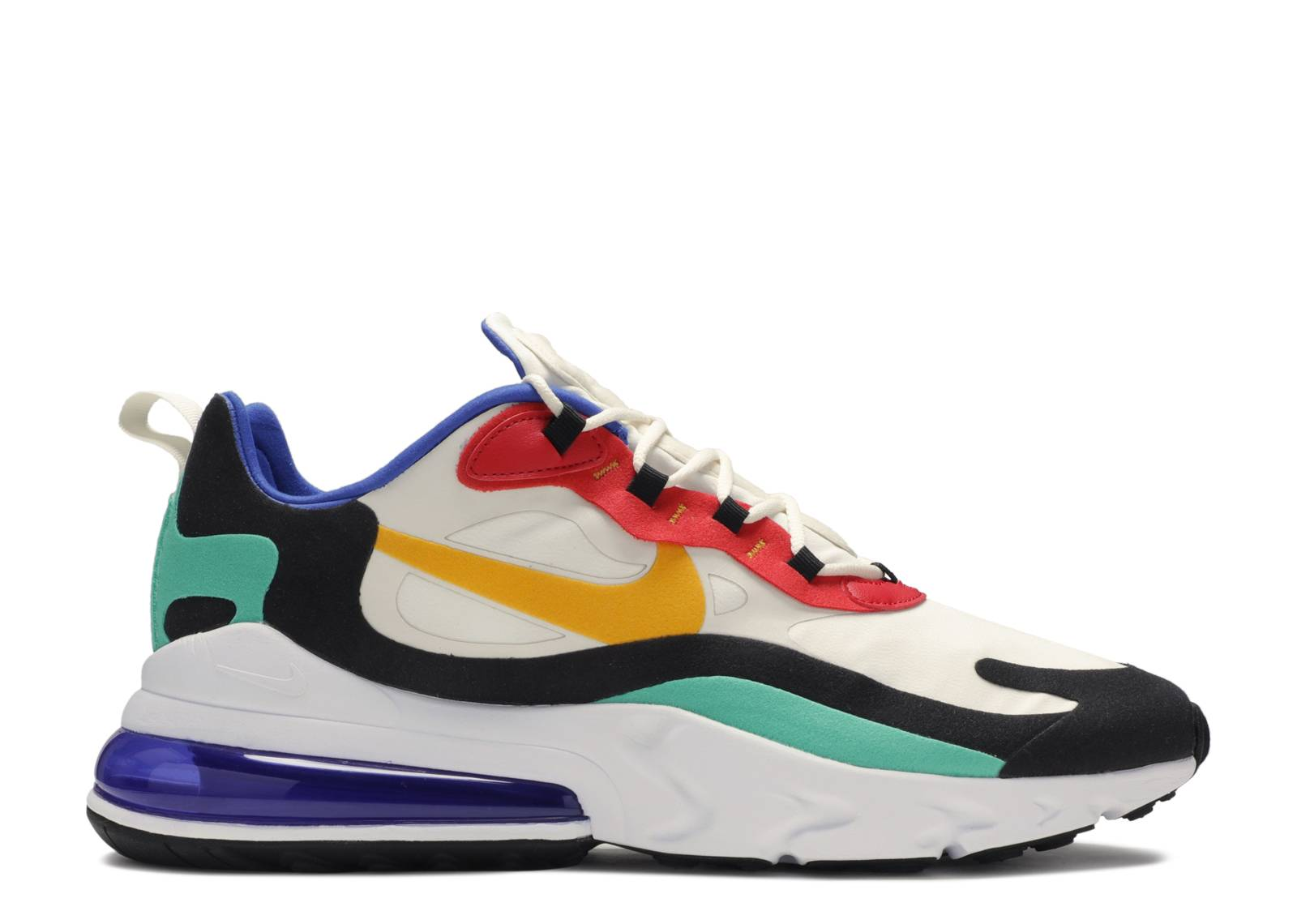 Nike Air Max 270 React Phantom University Gold University