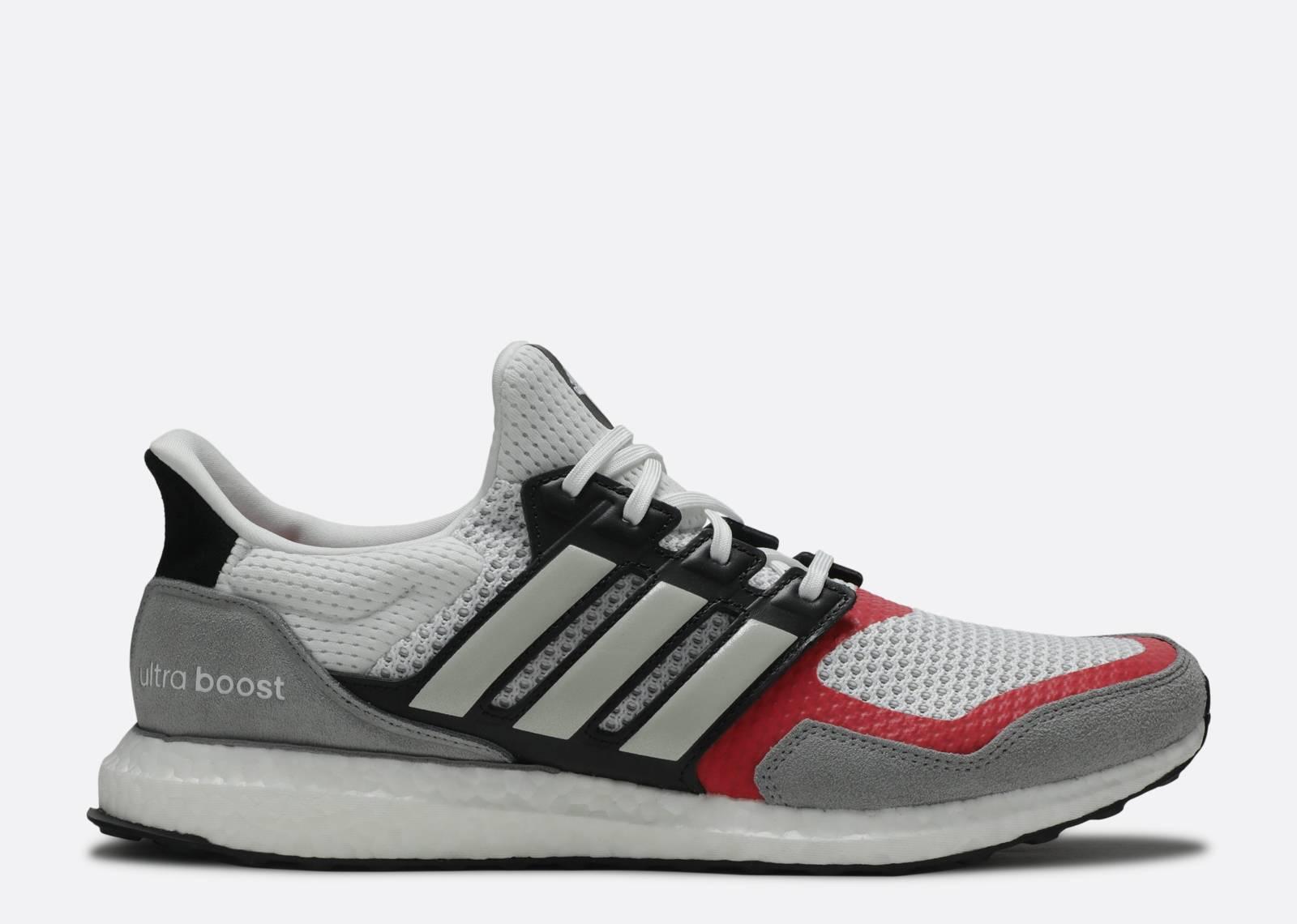 UltraBoost 1.0 S&L 'Grey Scarlet'