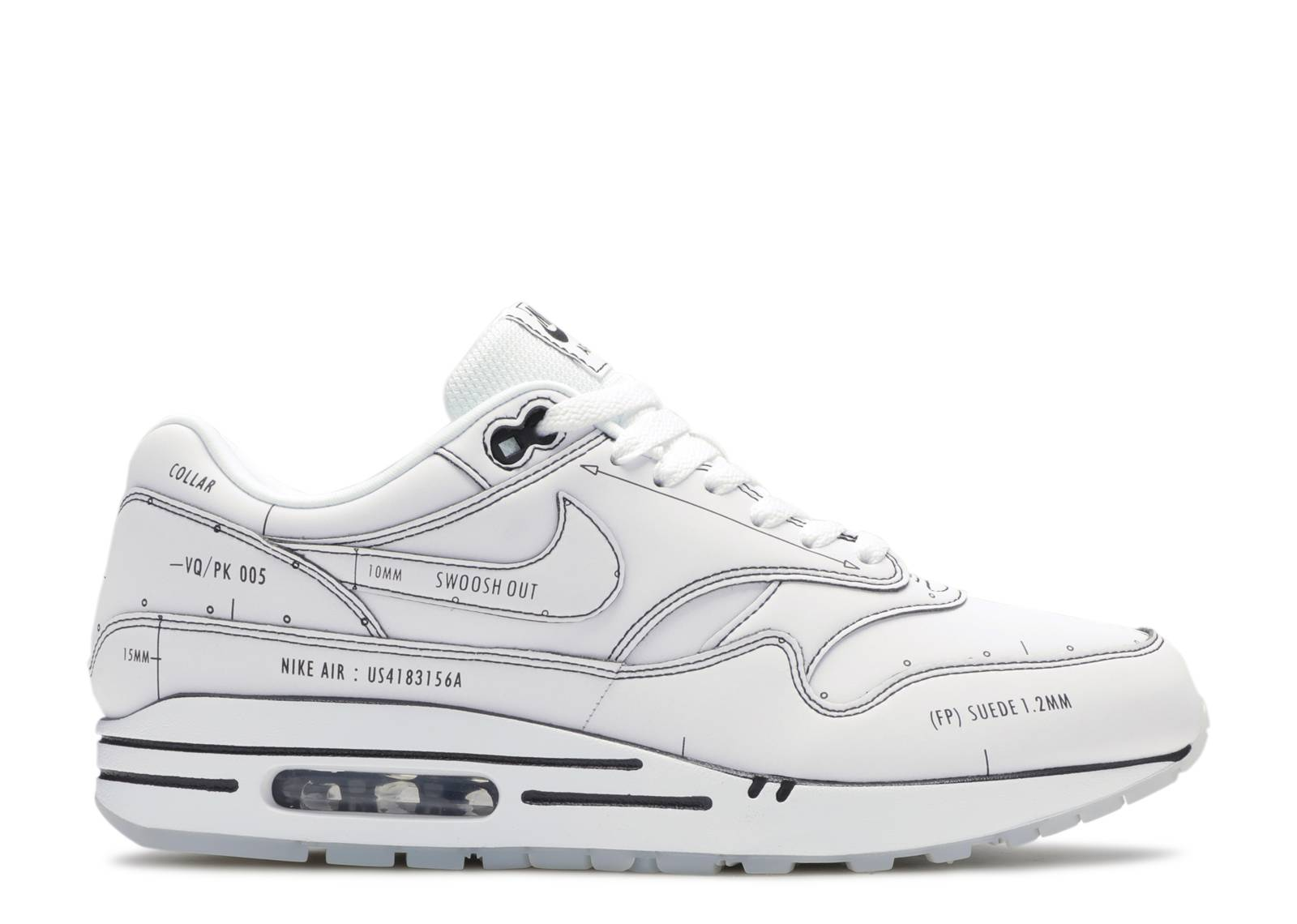 Air Max 1 'Sketch To Shelf - White'
