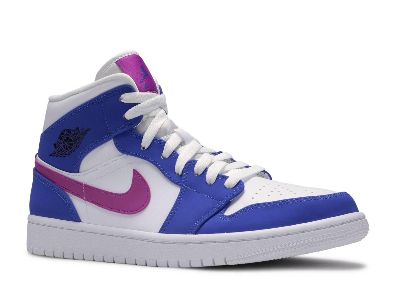 Air Jordan 1 Mid 'Royal Violet'