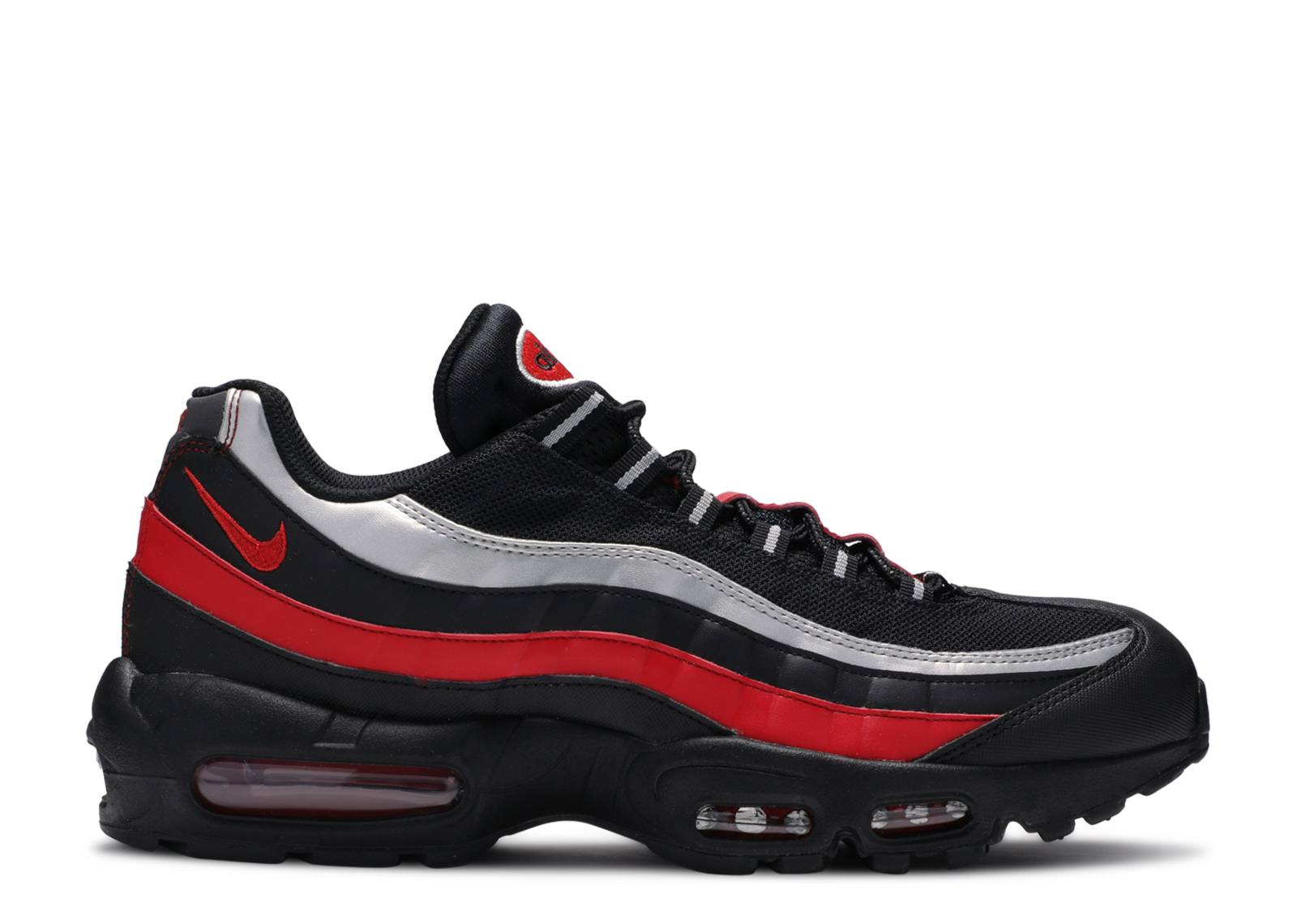 Nike Air Max 95 Essential Black University Red UK 10