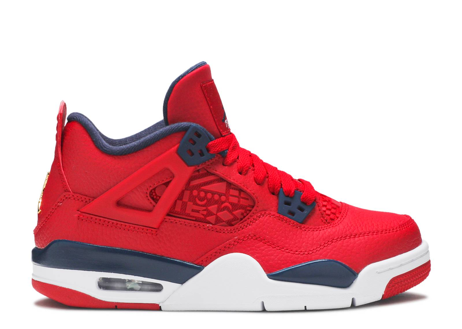 "air jordan 4 retro gs ""fiba"""