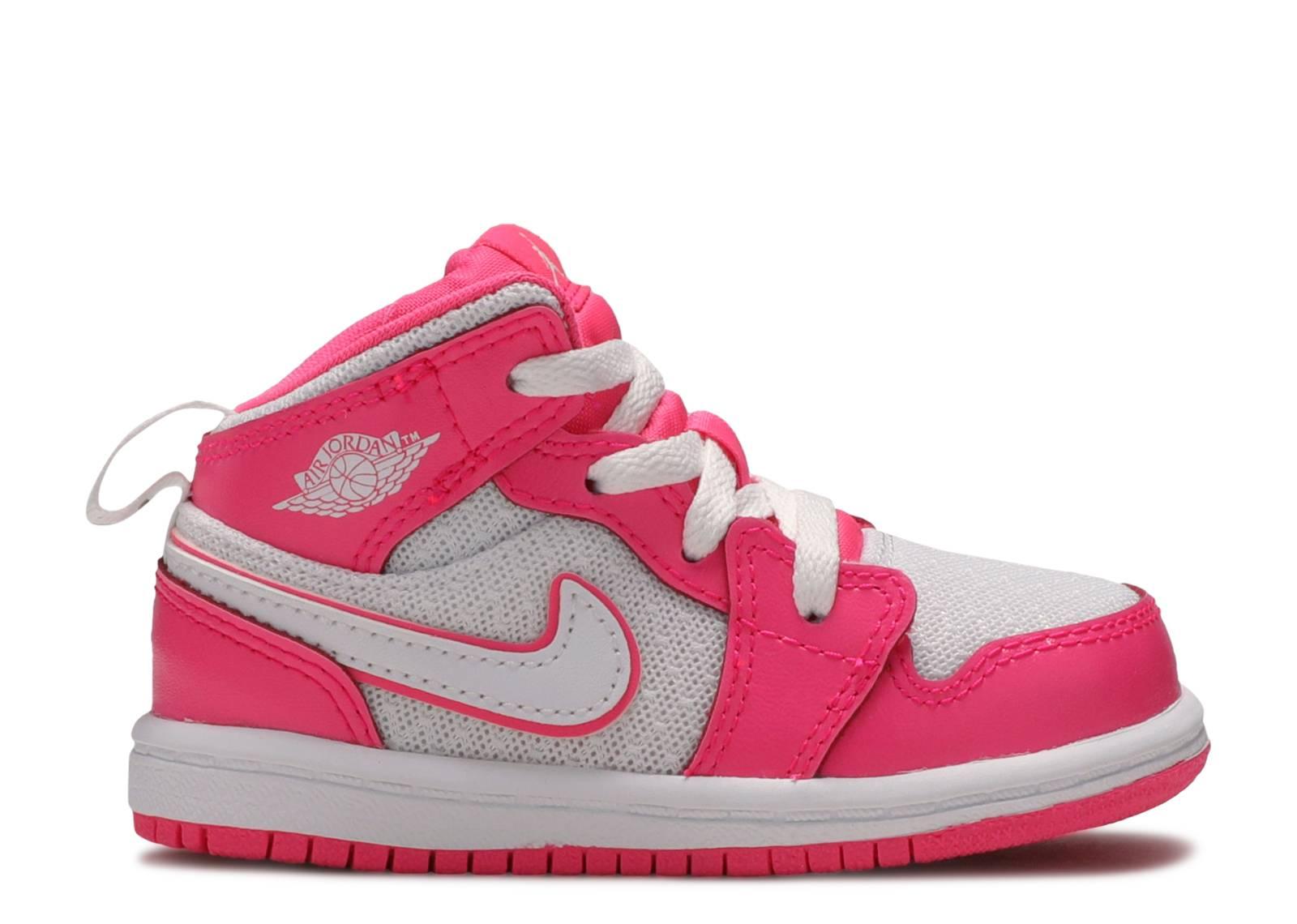 Air Jordan 1 Mid GS 'Hyper Pink'