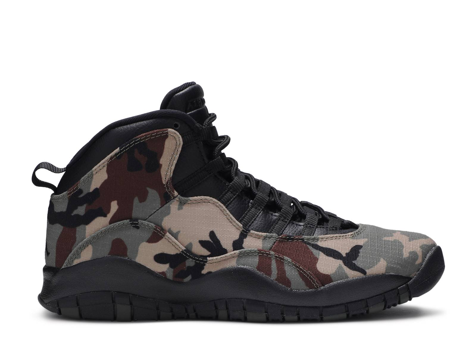 "air jordan 10 retro ""woodland camo"""