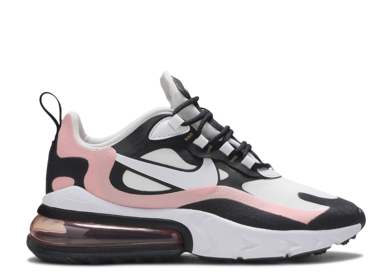 Wmns Air Max 270 React Coral Black Nike At6174 005 Black