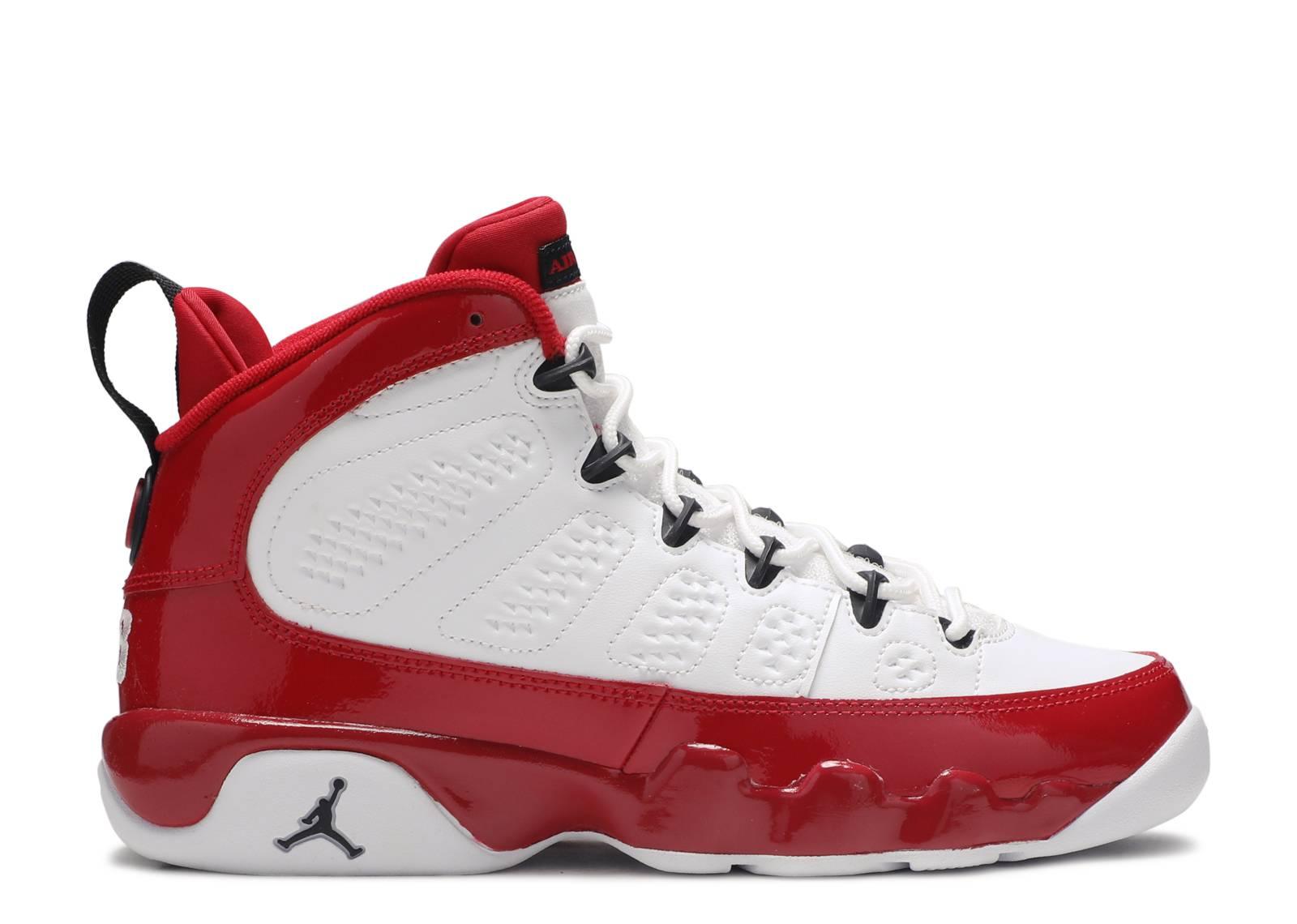 "Air Jordan 9 Retro BG ""Gym Red"""