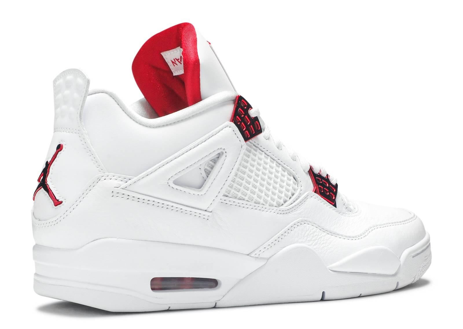 Air Jordan 4 Retro 'Red Metallic'