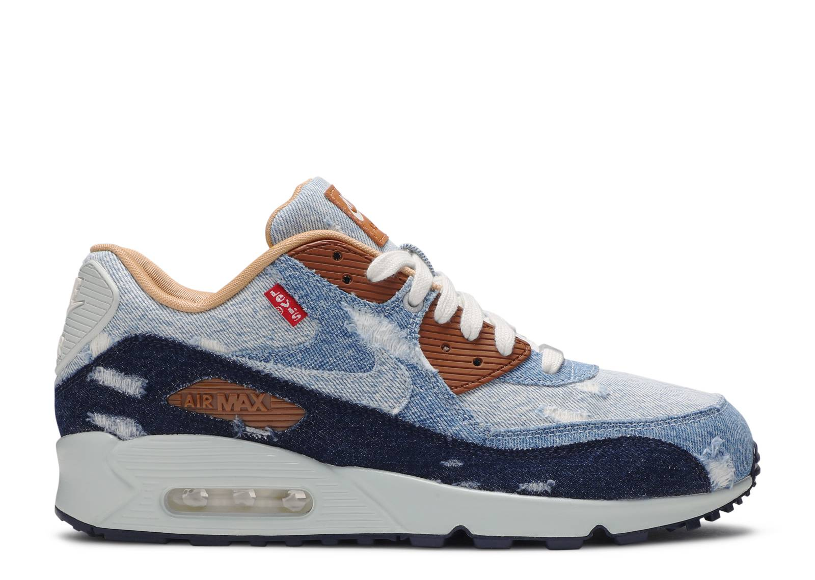 Pence colateral Entender  Levi's X Air Max 90 'Nike By You' - Nike - 708279 988 - multi-color |  Flight Club