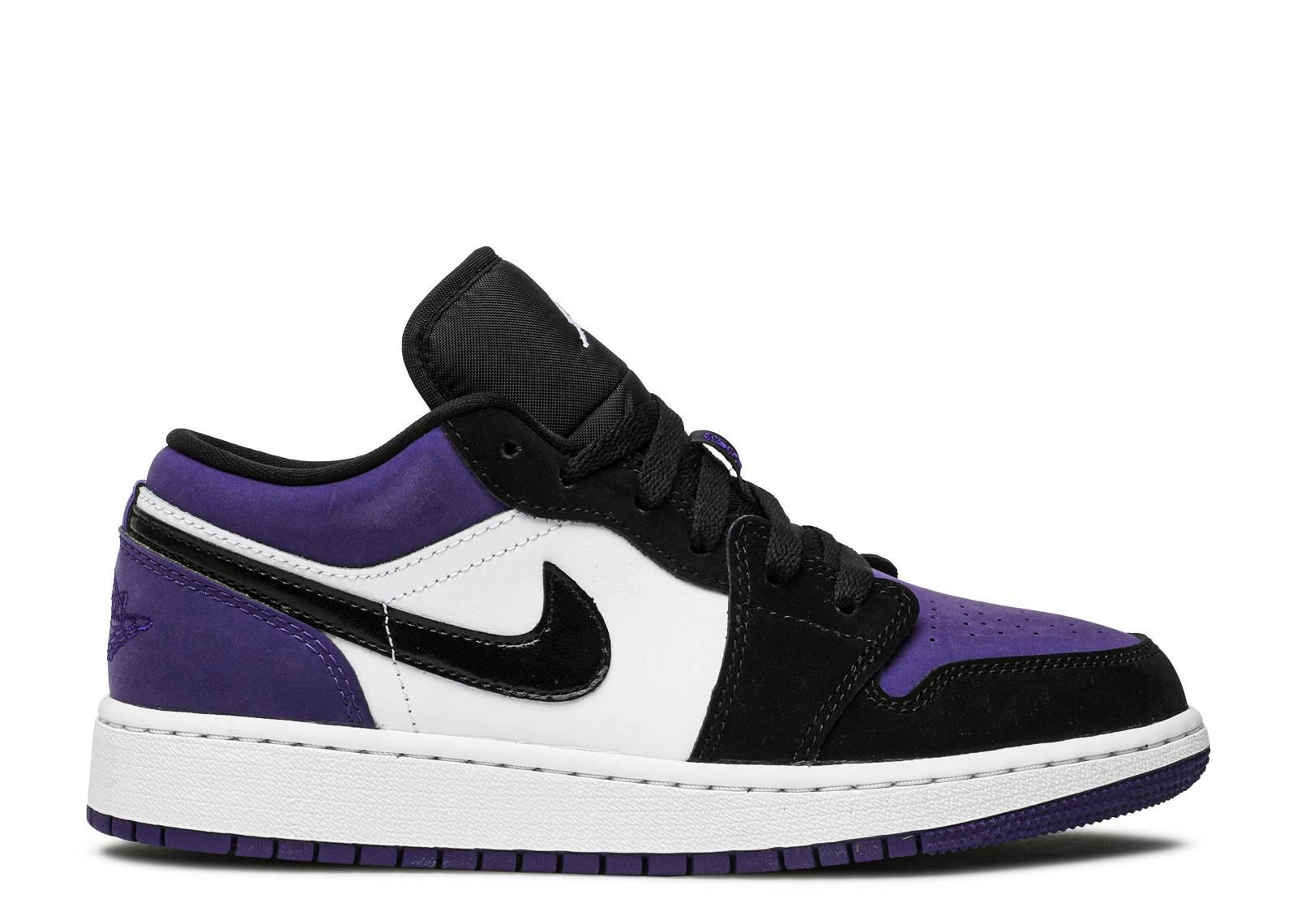 Air Jordan 1 Low GS 'Court Purple'