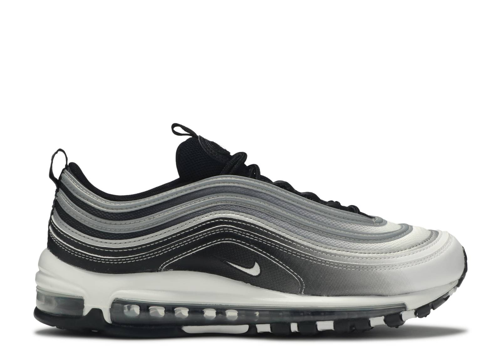 Air Max 97 Reflective Silver Nike 921826 016 Black Black