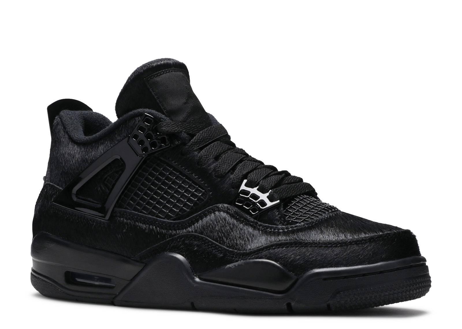 Sacrificio Repeler Estoy orgulloso  Olivia Kim X Wmns Air Jordan 4 Retro 'No Cover' - Air Jordan - CK2925 001 -  black/black/black | Flight Club