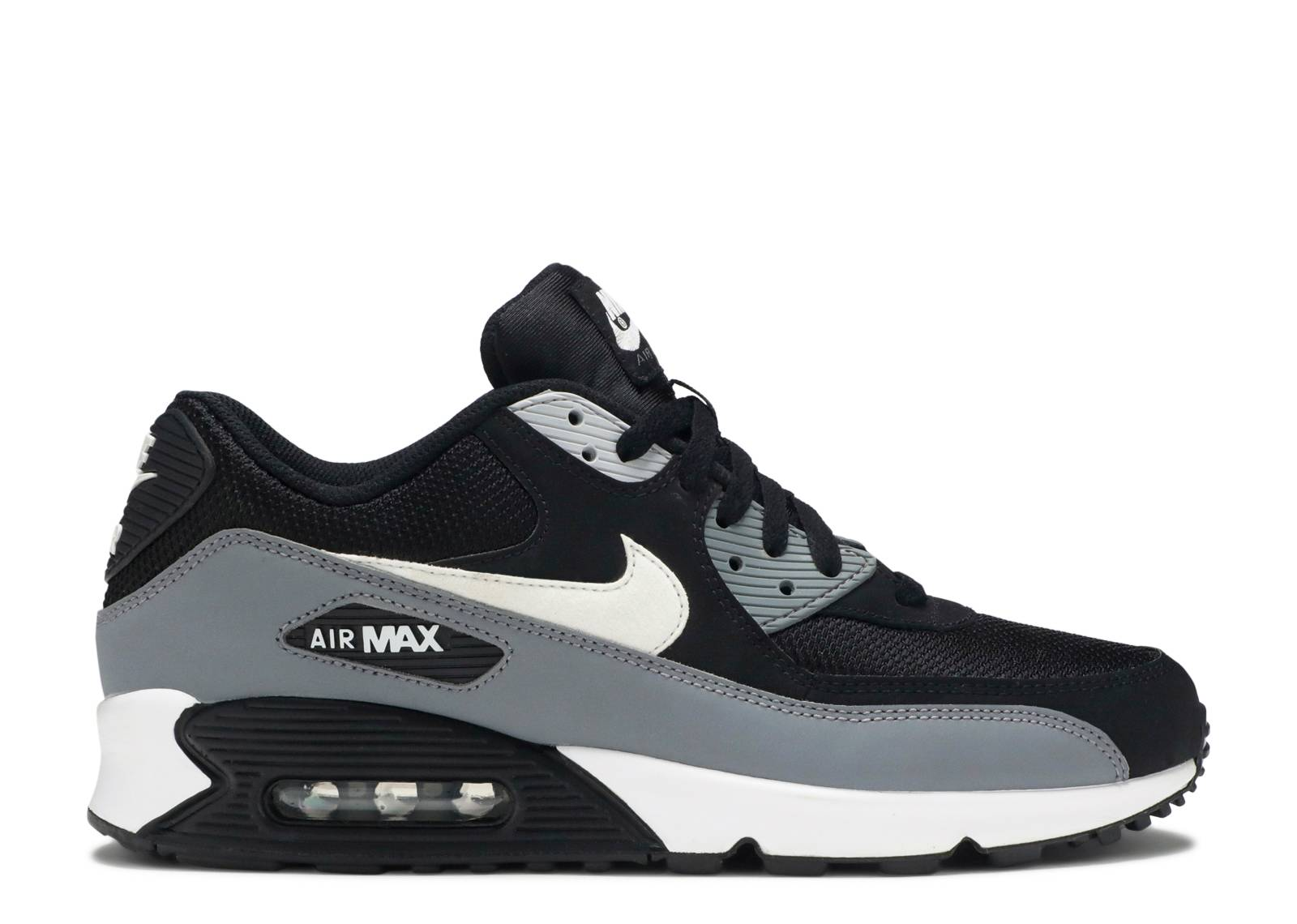 New Arrivel Nike Air Max 90 Essential Black White Grey