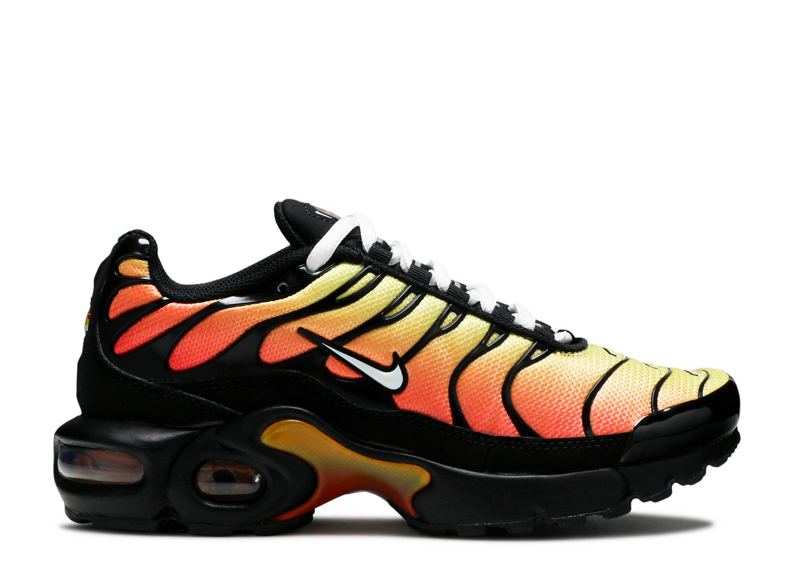 Air Max Plus Gs Black Habanero Red Nike Ar1852 017 Black