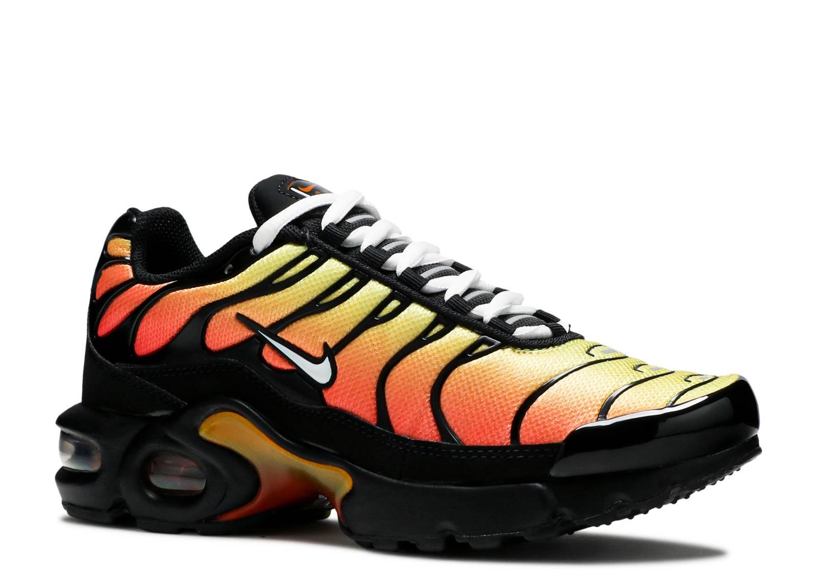 air max plus red and orange