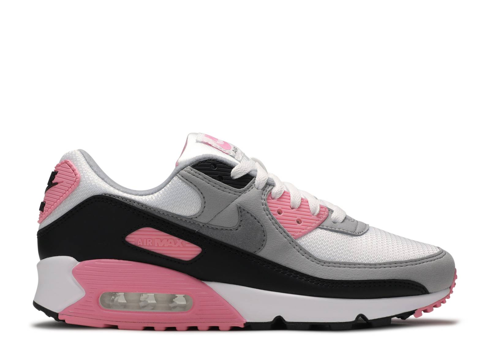 Fuerza Complaciente inversión  Wmns Air Max 90 'Rose Pink' - Nike - CD0490 102 - white/particle grey/light  smoke grey/rose pink | Flight Club