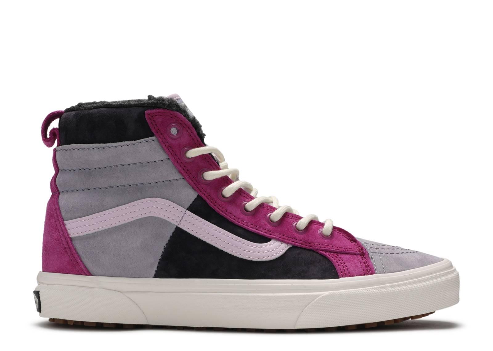 Vans SK8 Hi 46 MTE DX shoes purple pink grey
