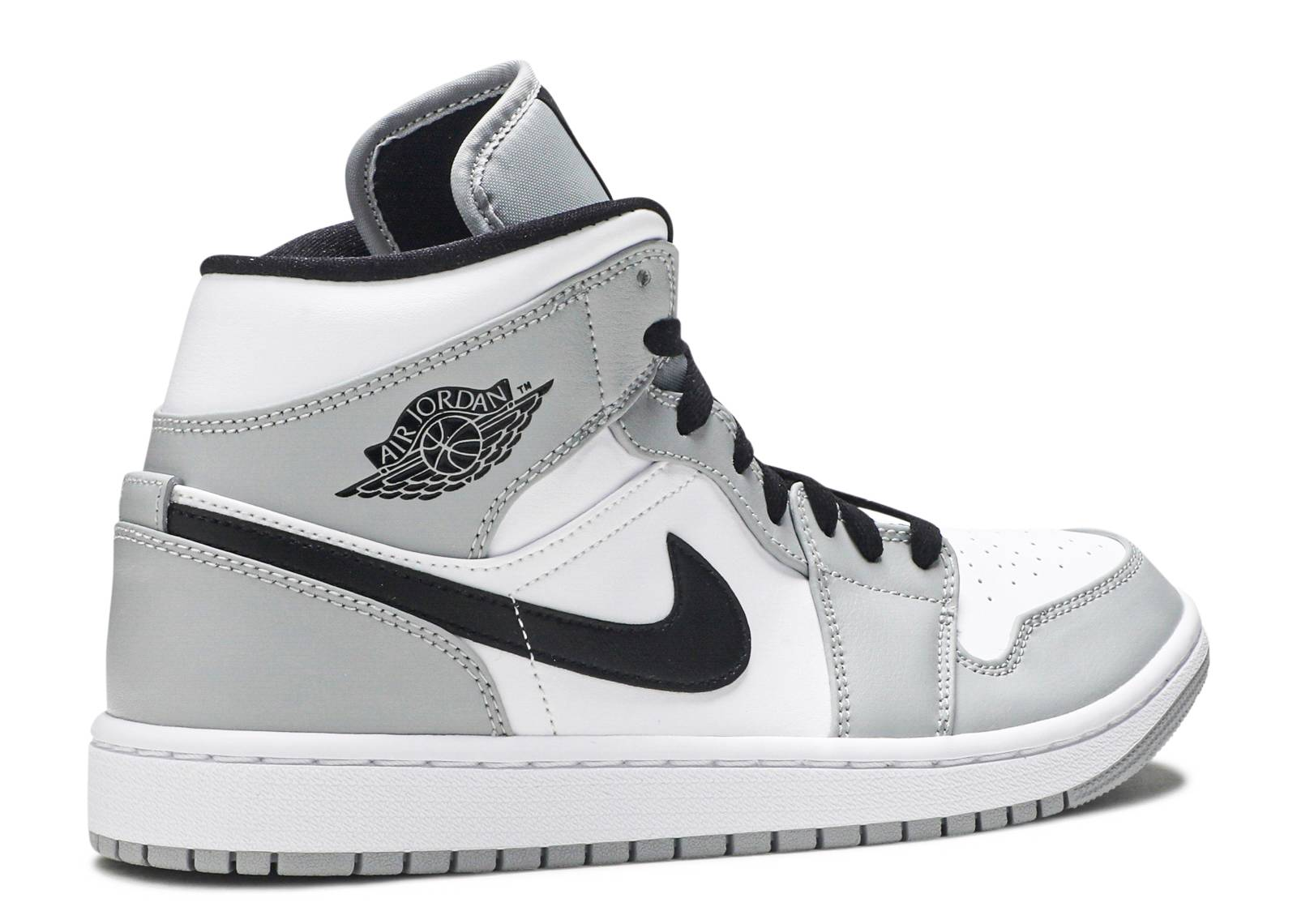 Air Jordan 1 Mid 'Smoke Grey'