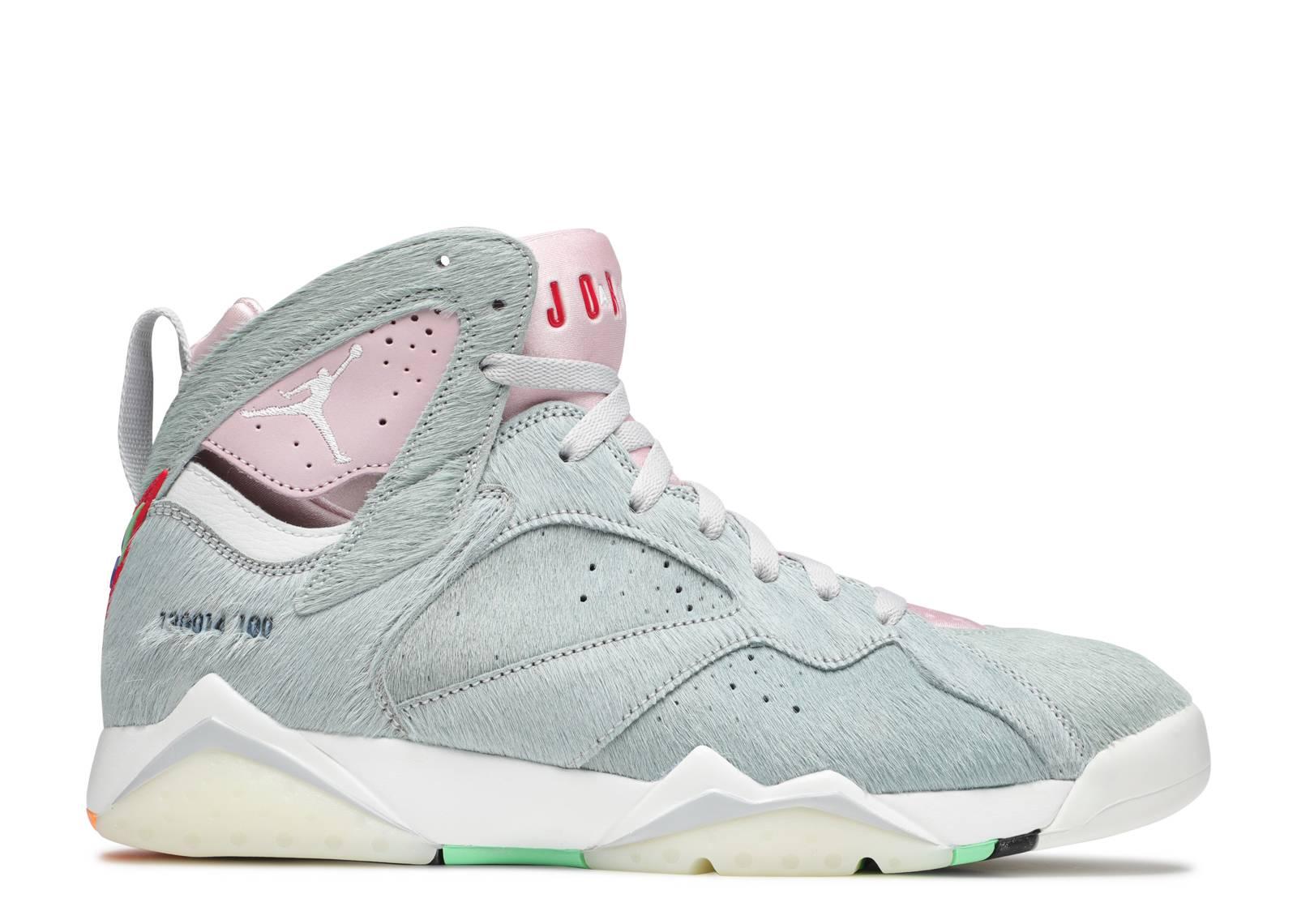 Nylon binario vacío  Air Jordan 7 Retro SE 'Hare 2.0' - Air Jordan - CT8528 002 - neutral  grey/summit white/pink foam/summit white | Flight Club