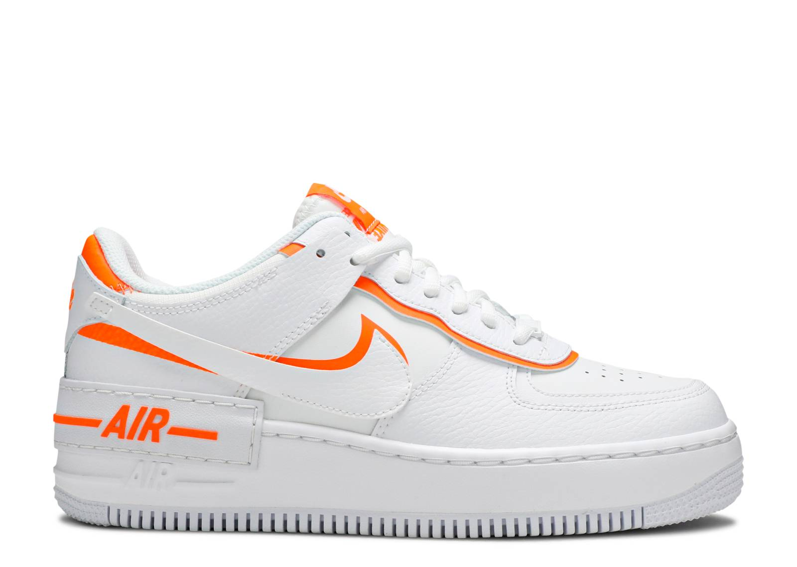 air force 1 orange et blanche