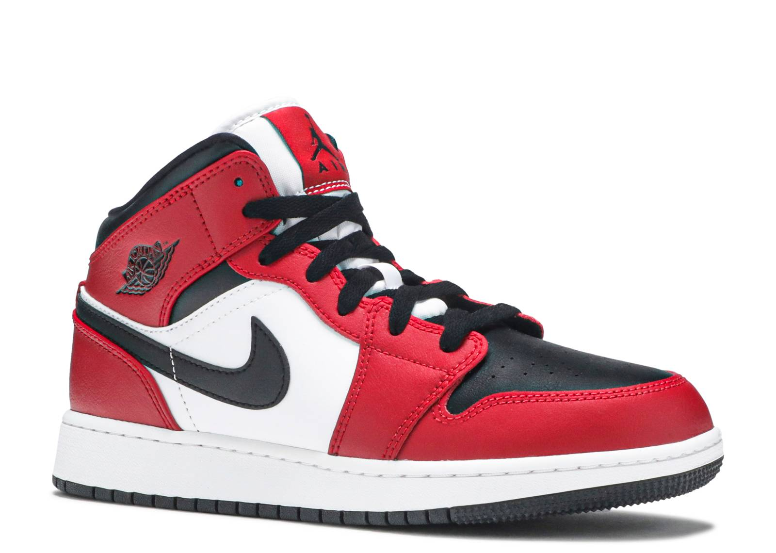 Air Jordan 1 Mid GS 'Chicago Black Toe'