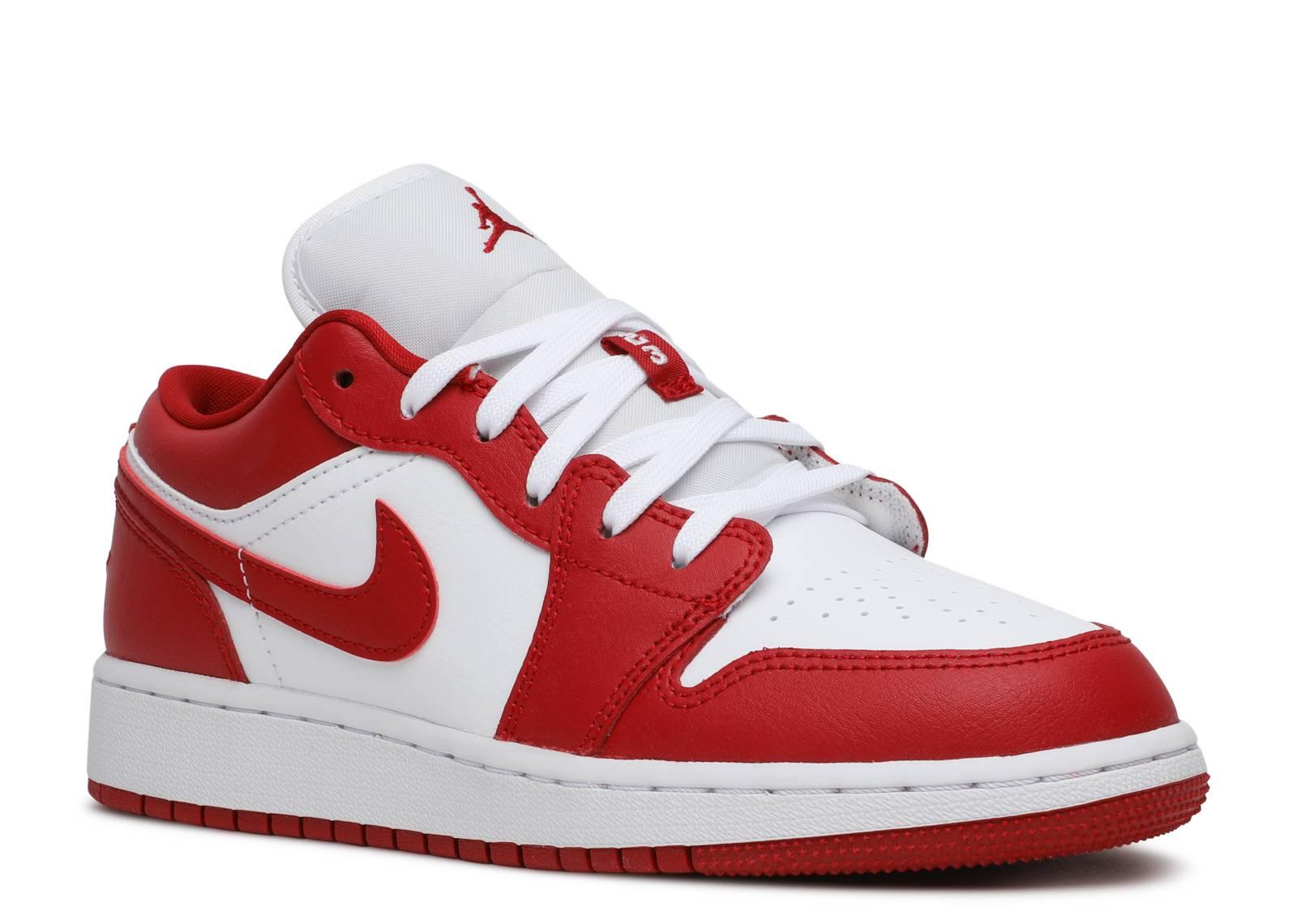 Air Jordan 1 Low Gs Air Jordan 553560 611 Gym Red Gym Red