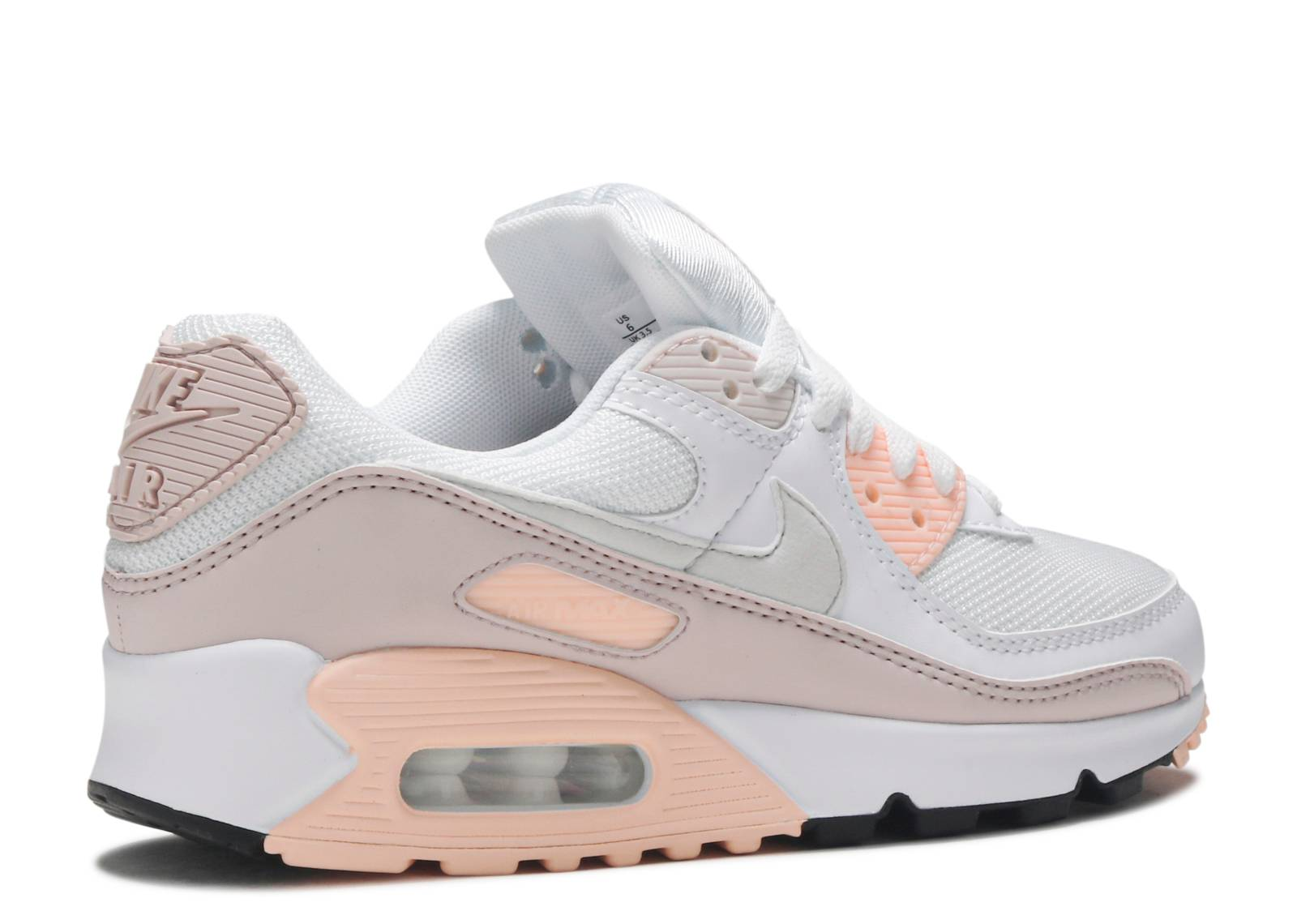 Wmns Air Max 90 'Barely Rose' - Nike - CT1030 101 - white/platinum ...