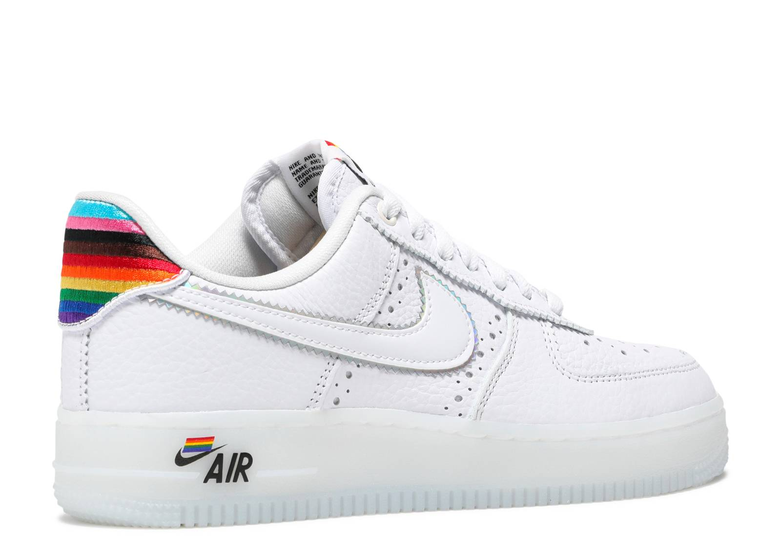 Air Force 1 Low 'Be True' - Nike - CV0258 100 - white/multi-color ...