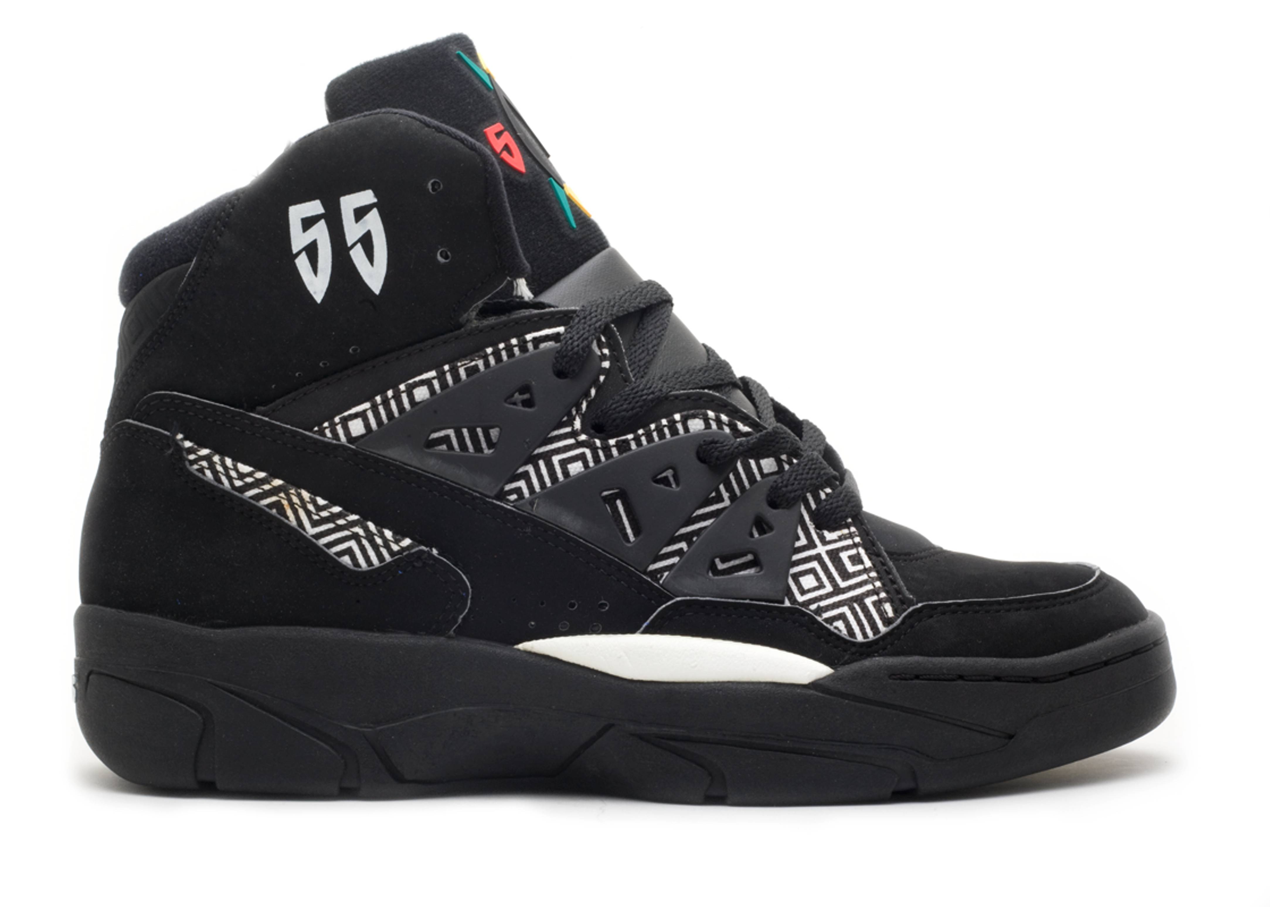Mutombo - Adidas - 073765 - black white  c05d47c4b