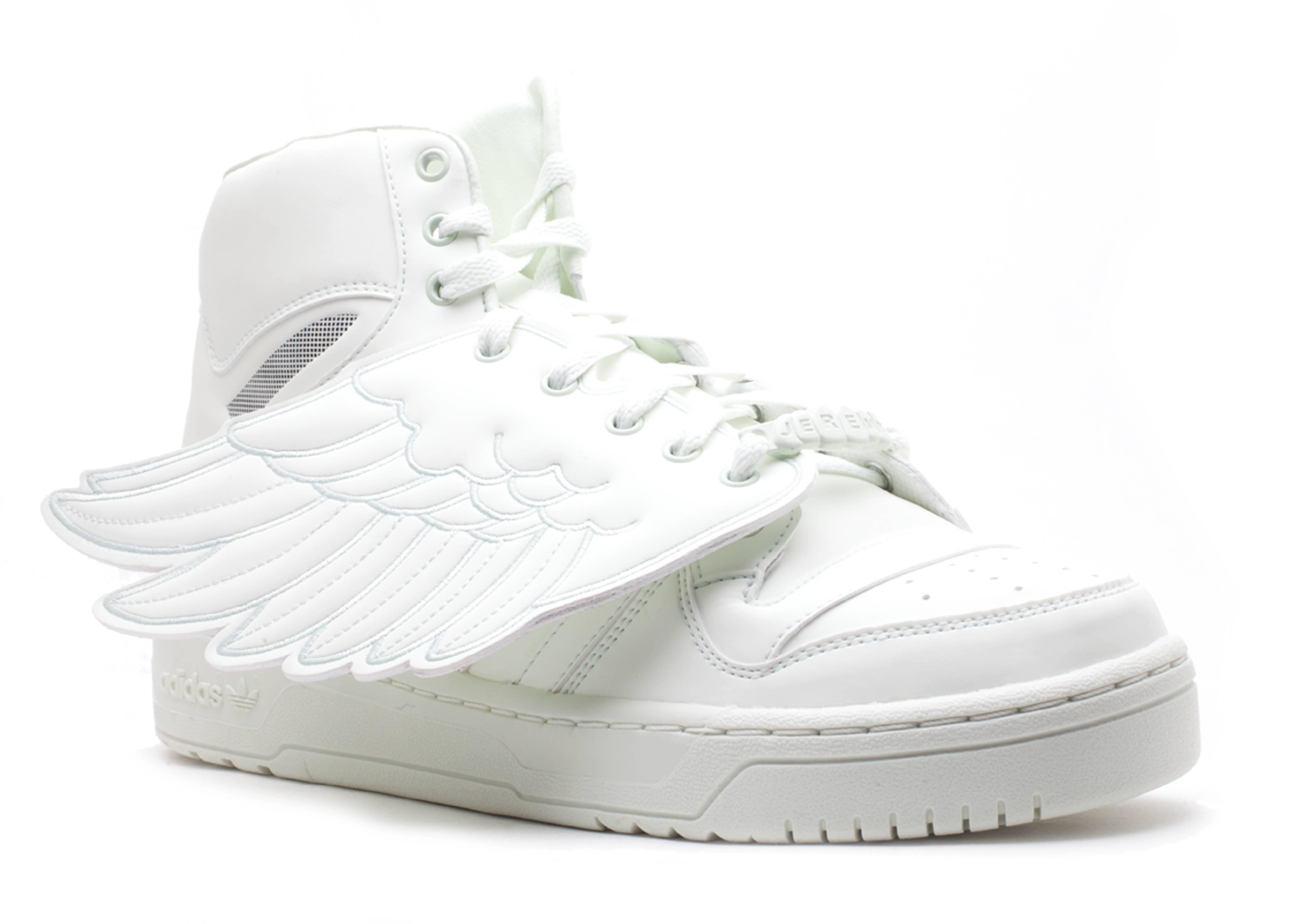 sports shoes f67d4 daf1c adidas js wings glow in the dark x jeremy scott release