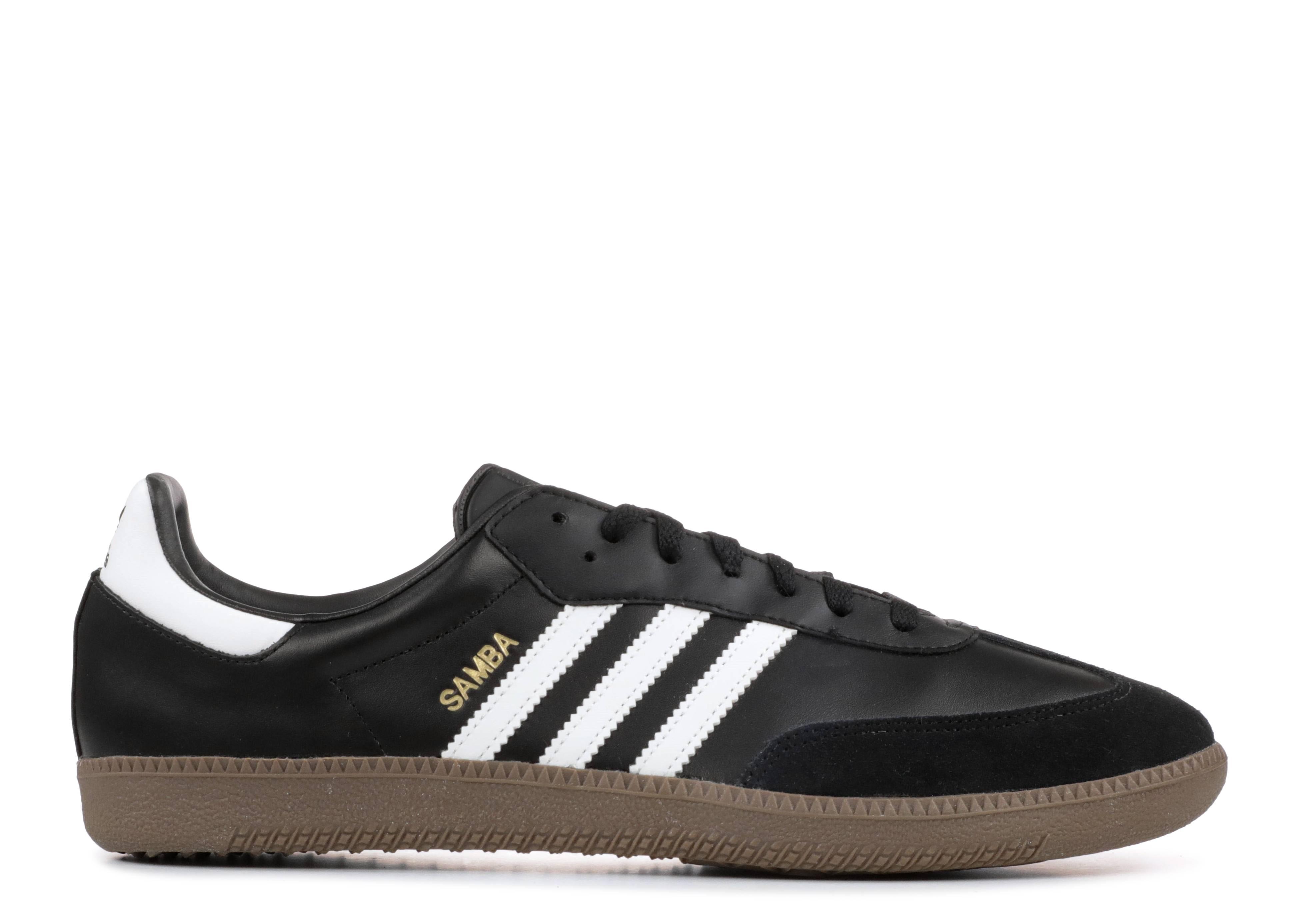 9b3f2928fcc6f Samba - Adidas - g17100 - black1 white gum5