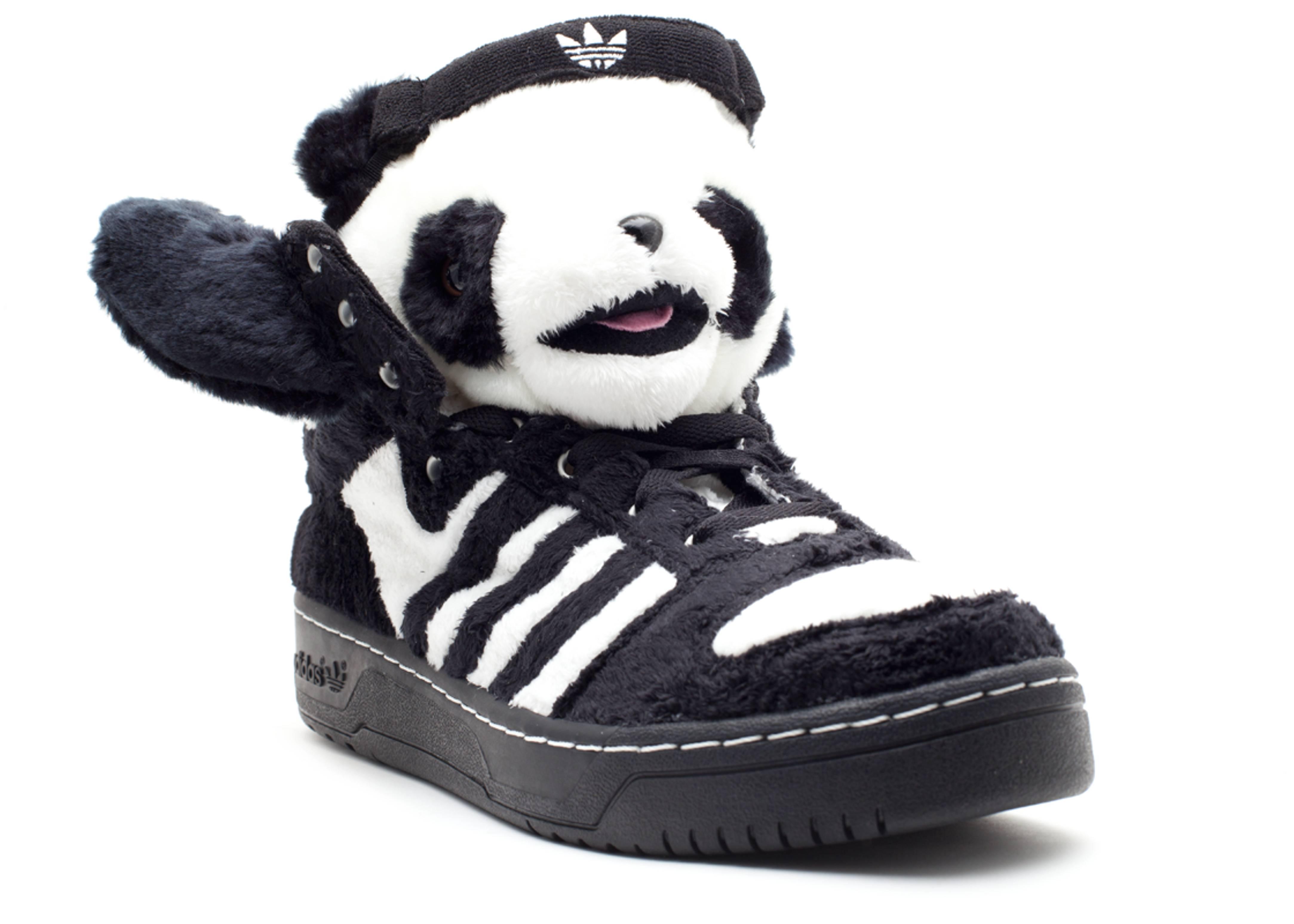 Adidas X Jeremy Scott Panda Shoes